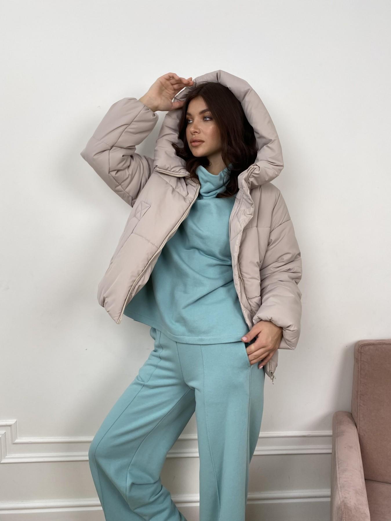 Нокс куртка из плащевой ткани 10535 АРТ. 46974 Цвет: Бежевый 511 - фото 2, интернет магазин tm-modus.ru