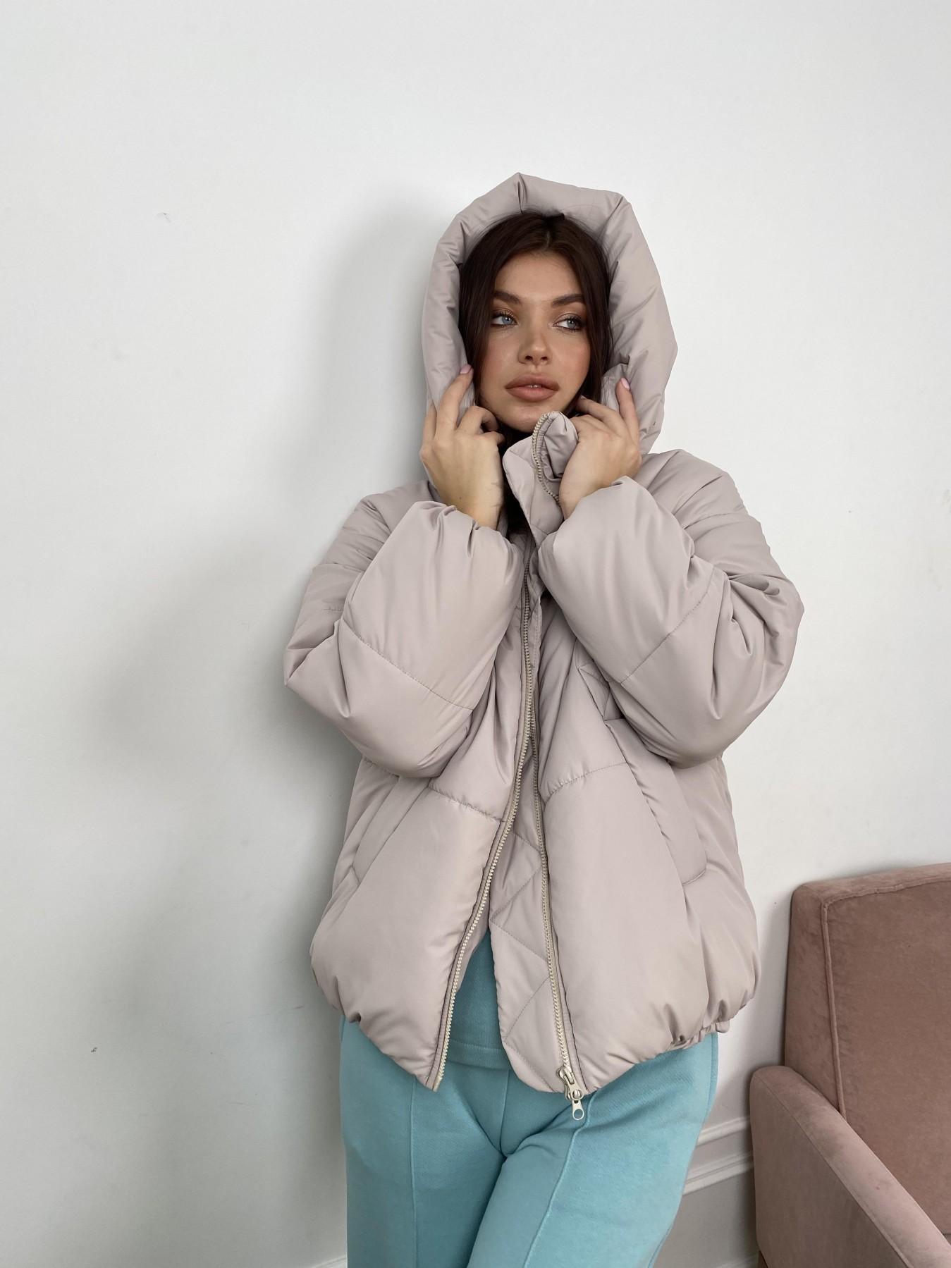 Нокс куртка из плащевой ткани 10535 АРТ. 46974 Цвет: Бежевый 511 - фото 3, интернет магазин tm-modus.ru