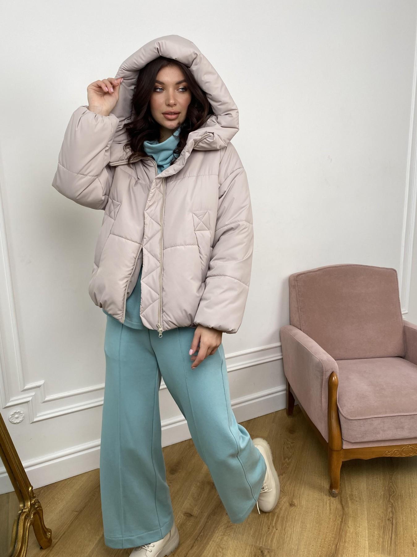 Нокс куртка из плащевой ткани 10535 АРТ. 46974 Цвет: Бежевый 511 - фото 4, интернет магазин tm-modus.ru