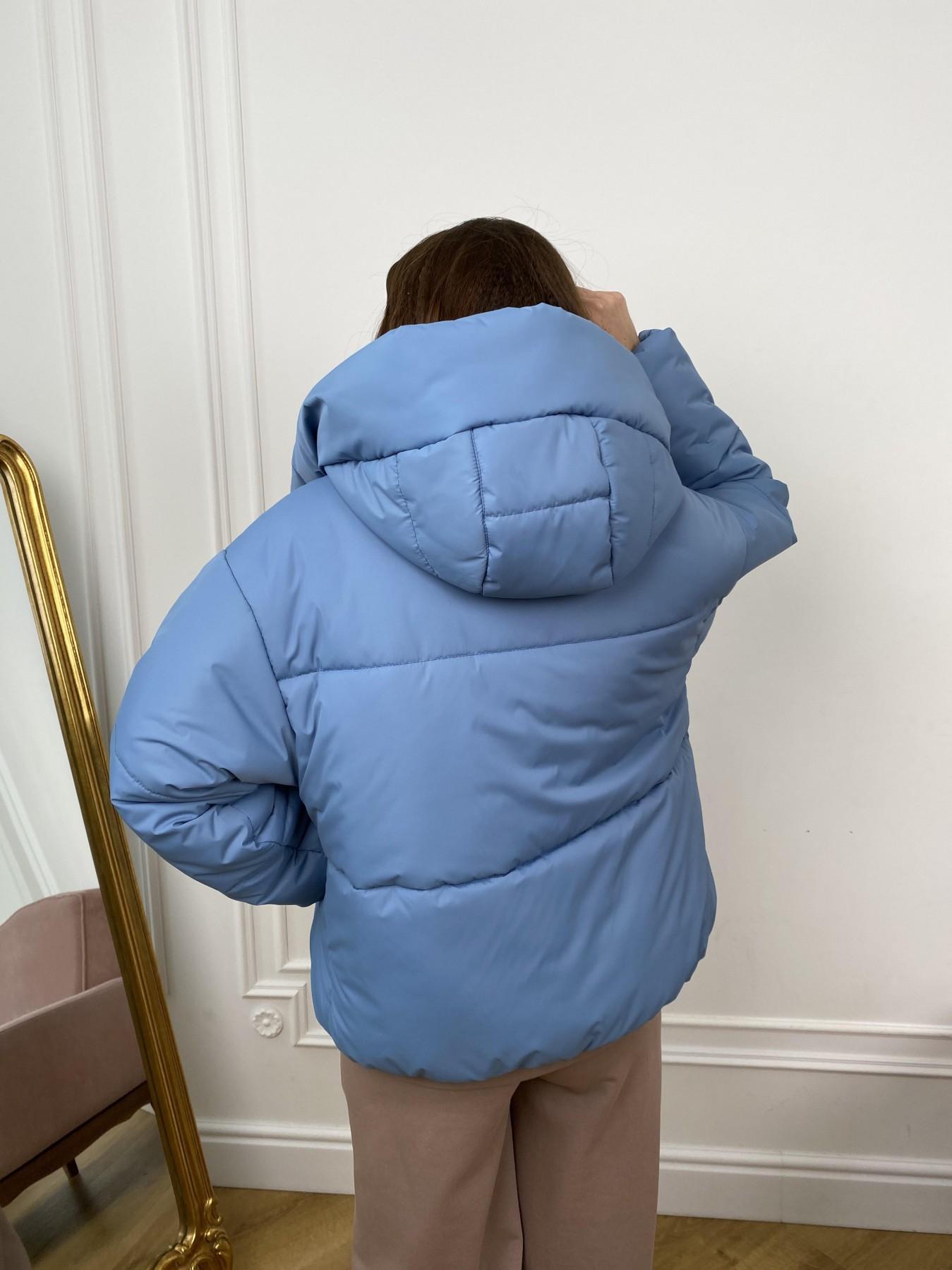 Нокс куртка из плащевой ткани 10535 АРТ. 46971 Цвет: Джинс - фото 3, интернет магазин tm-modus.ru