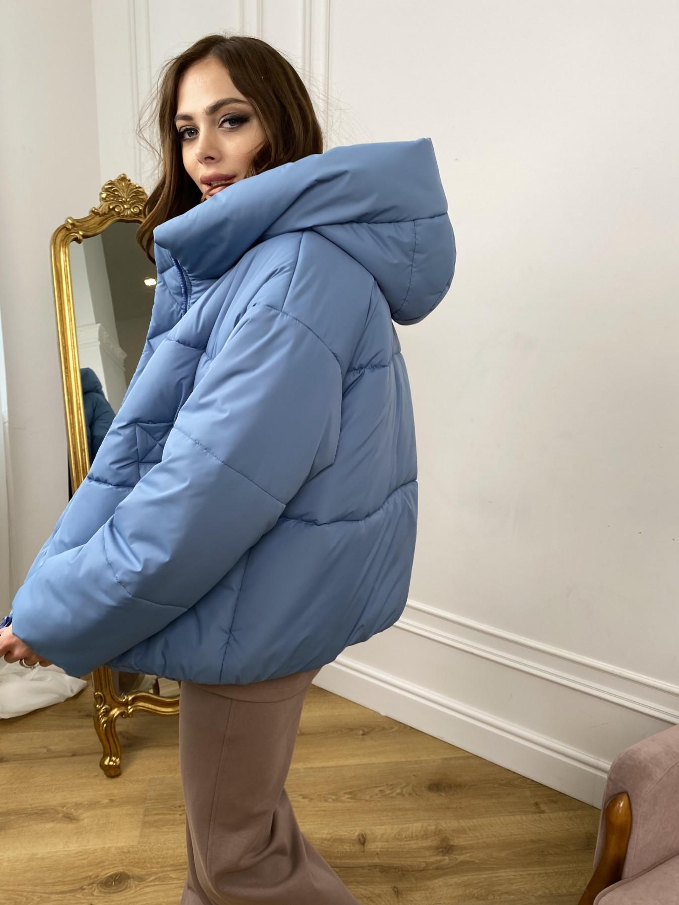 Нокс куртка из плащевой ткани 10535 АРТ. 46971 Цвет: Джинс - фото 5, интернет магазин tm-modus.ru