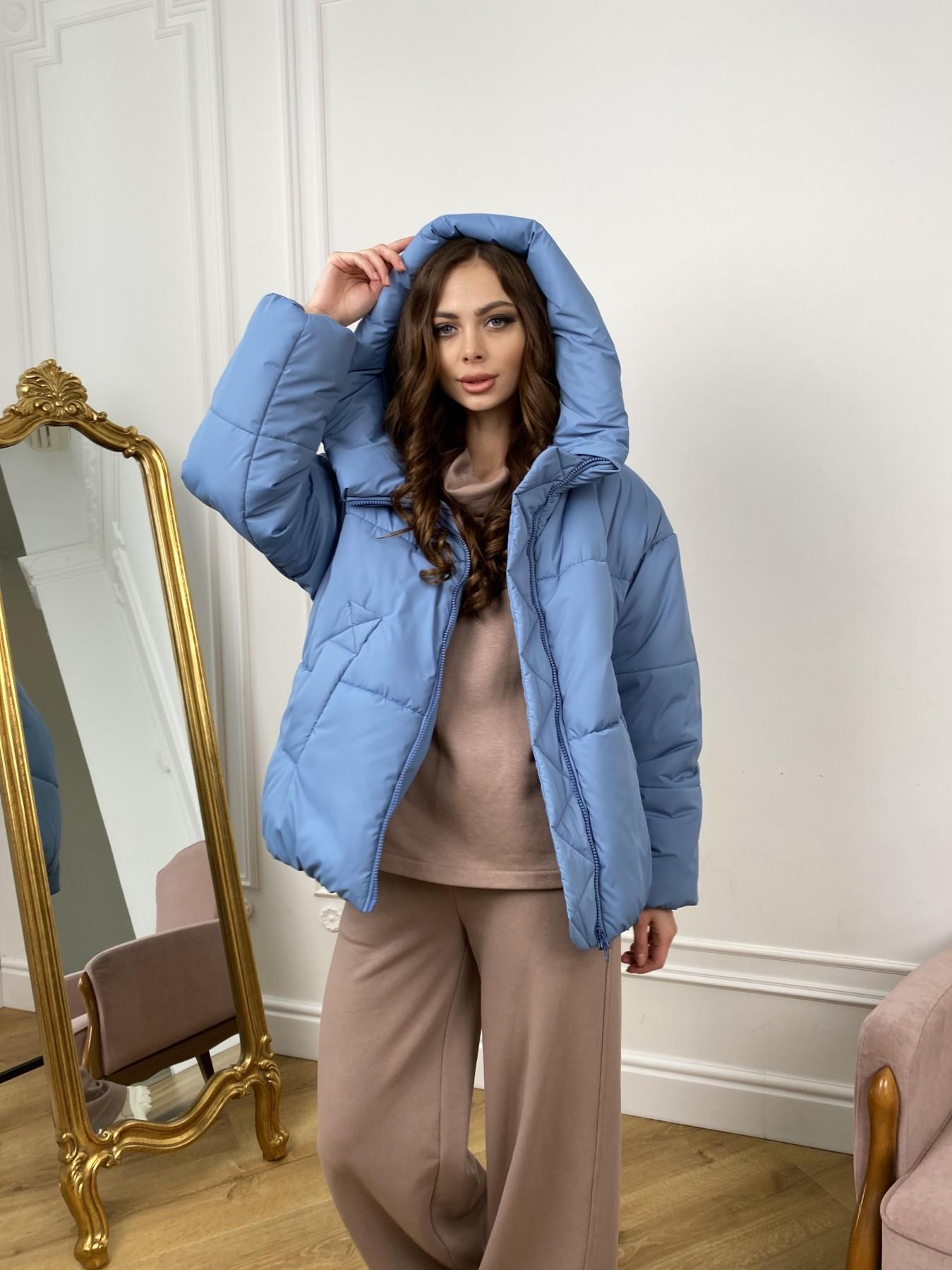 женские куртки оптом Нокс куртка из плащевой ткани 10535