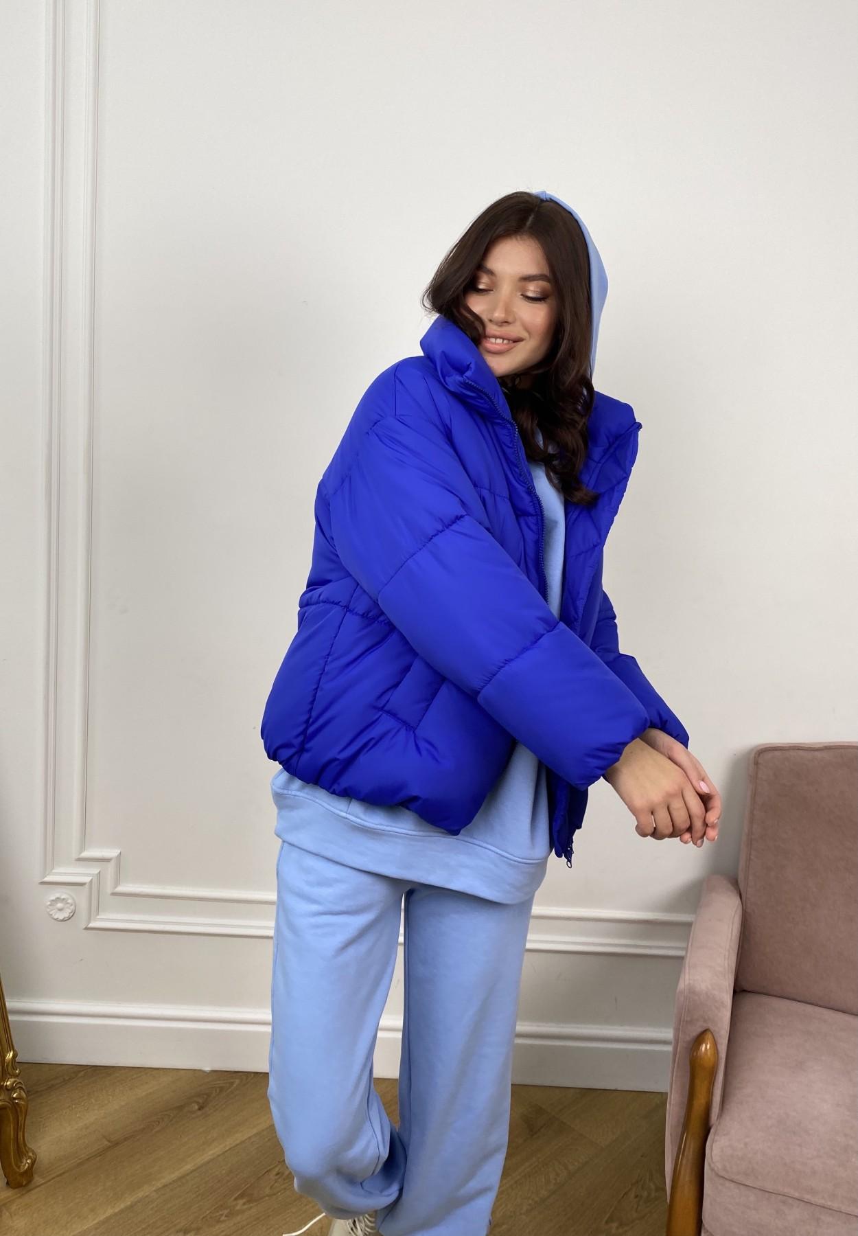 Нокс куртка из плащевой ткани 10535 АРТ. 46881 Цвет: Электрик 1052 - фото 3, интернет магазин tm-modus.ru