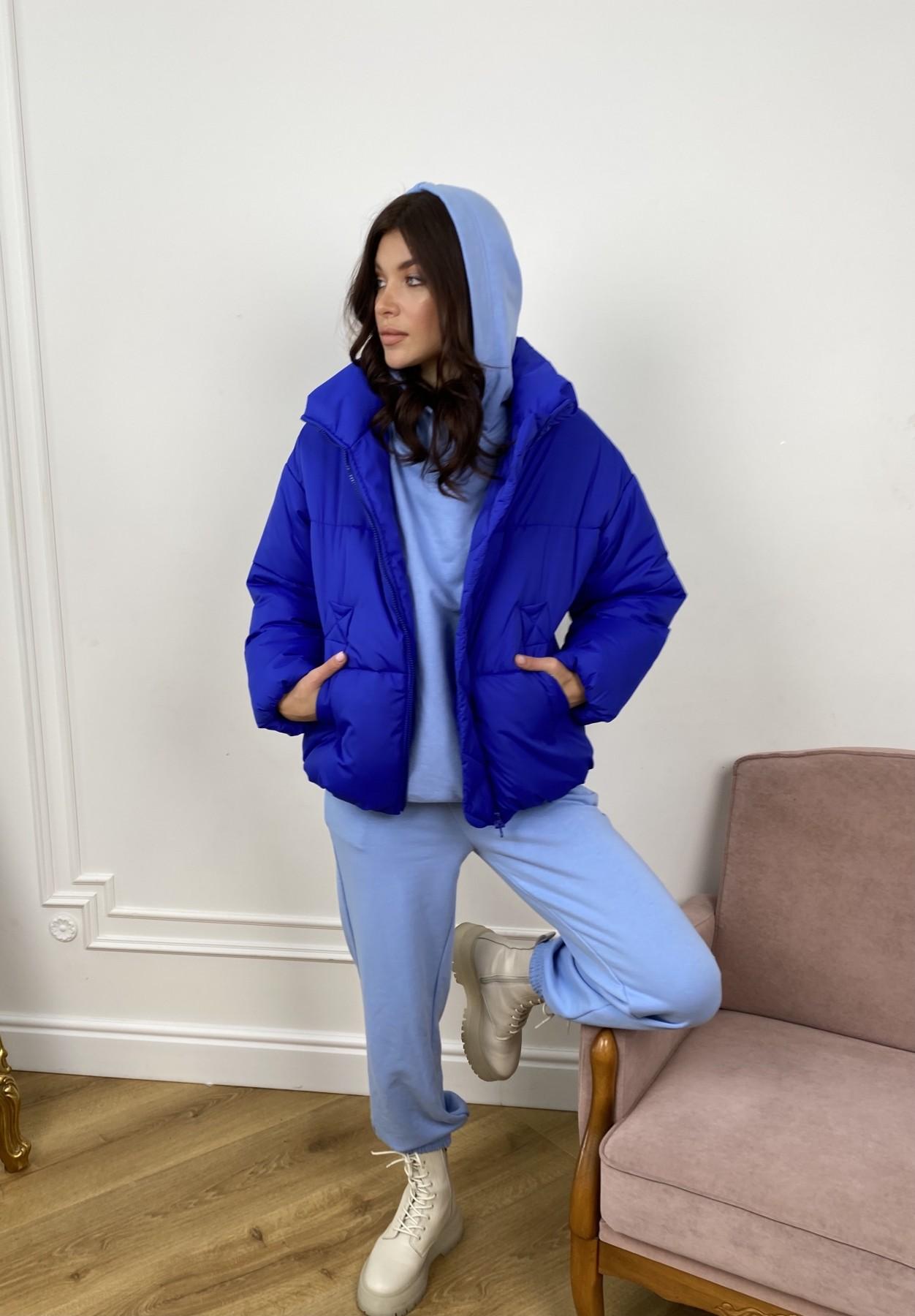 Нокс куртка из плащевой ткани 10535 АРТ. 46881 Цвет: Электрик 1052 - фото 7, интернет магазин tm-modus.ru