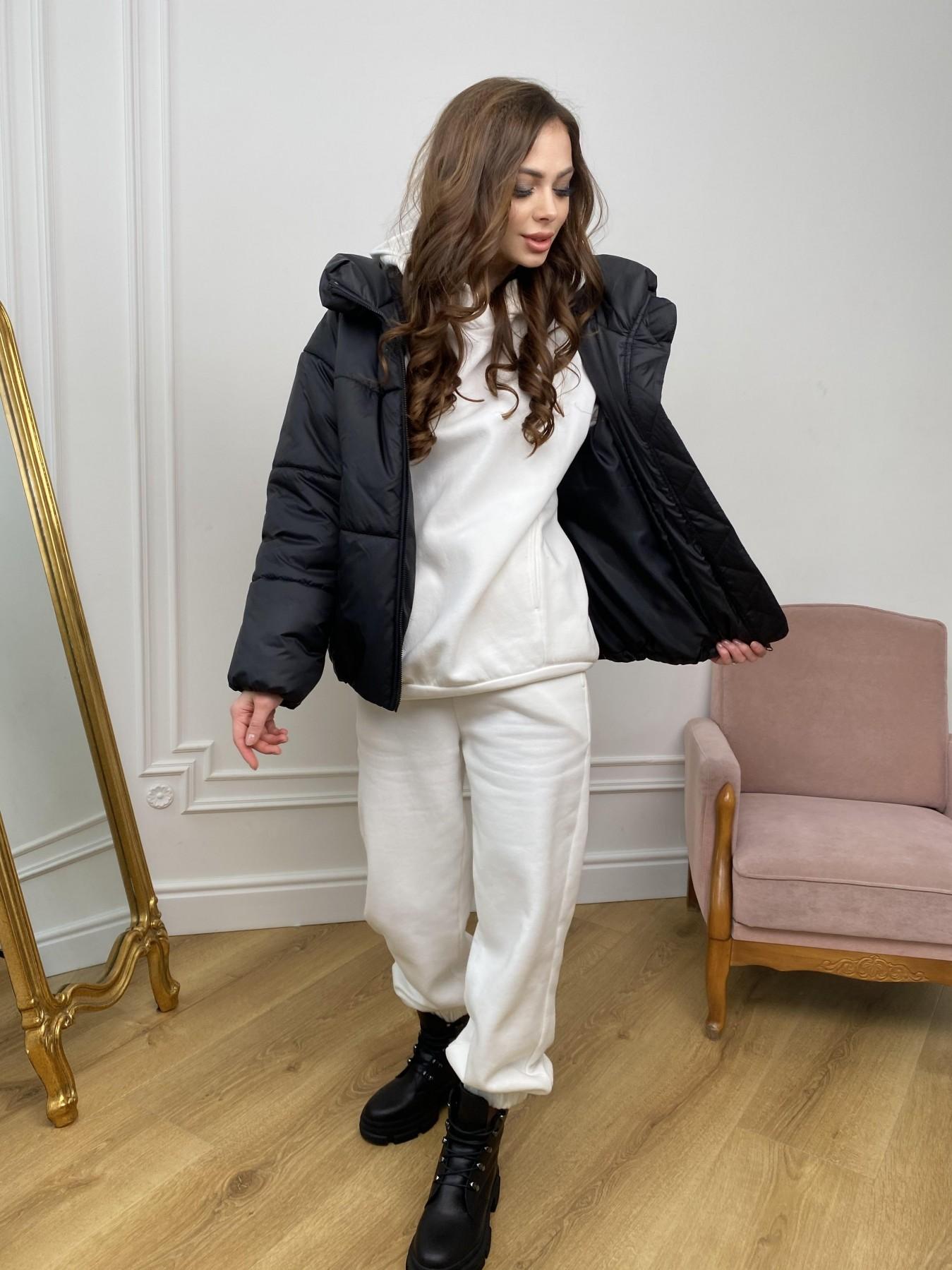 Нокс куртка из плащевой ткани 10535 АРТ. 46975 Цвет: Черный - фото 5, интернет магазин tm-modus.ru