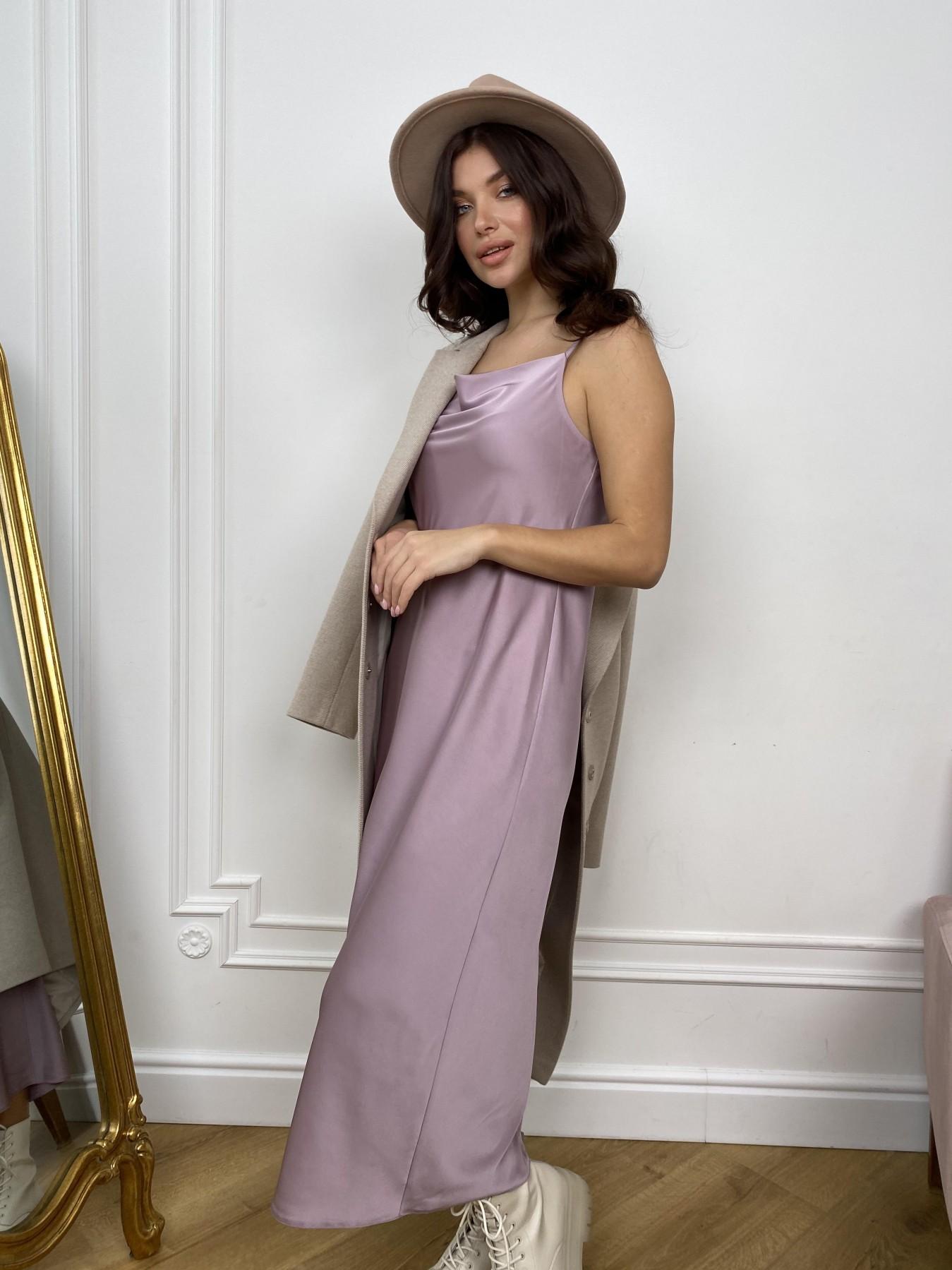 Камая Лайт платье из шелка 10611 АРТ. 46985 Цвет: Пудра - фото 1, интернет магазин tm-modus.ru