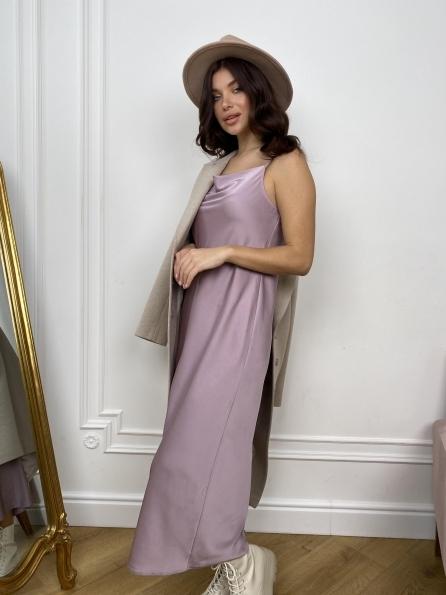 """Купить """"Камая Лайт"""" платье из шелка 10611 оптом и в розницу"""