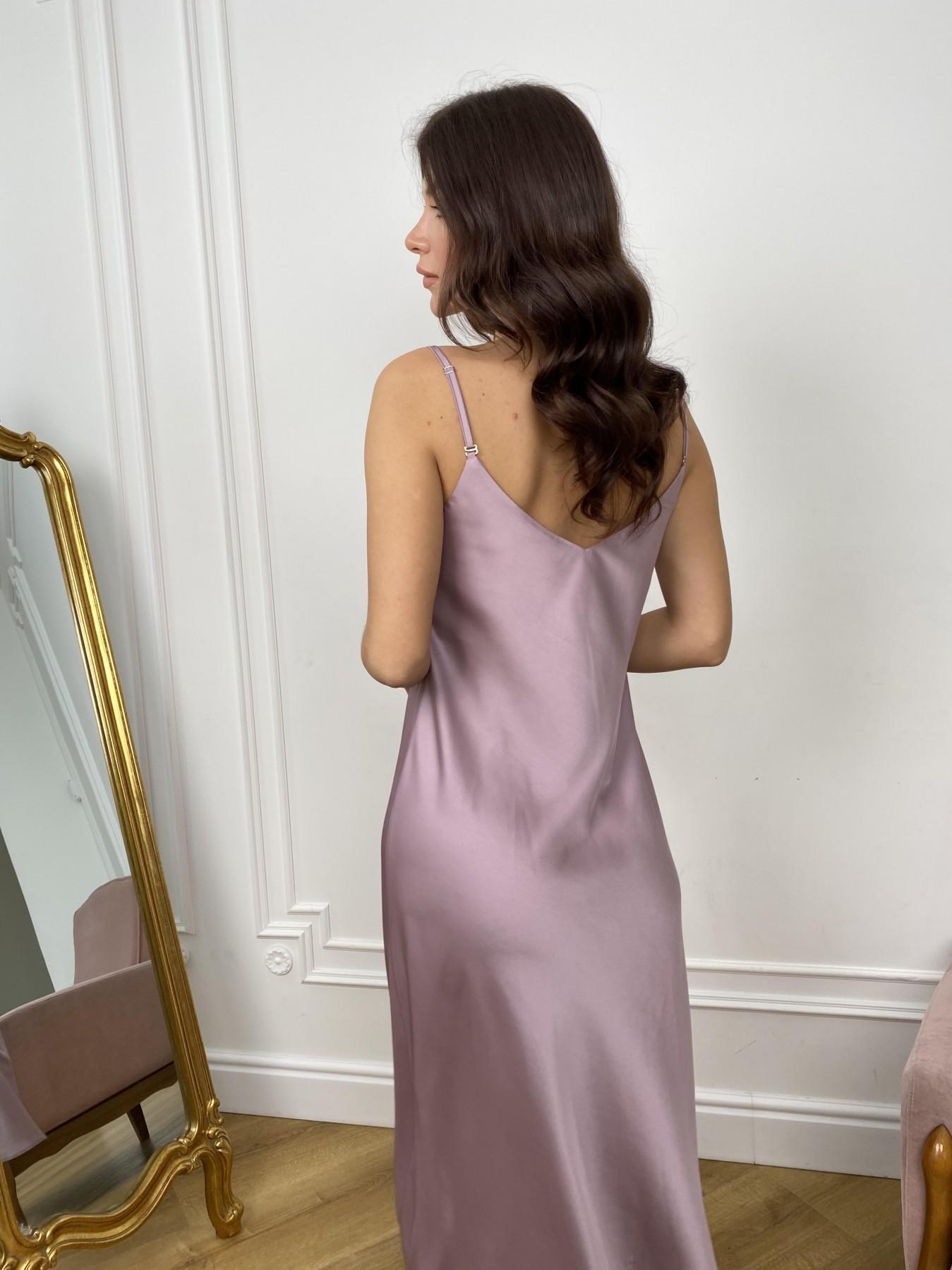 Камая Лайт платье из шелка 10611 АРТ. 46985 Цвет: Пудра - фото 3, интернет магазин tm-modus.ru
