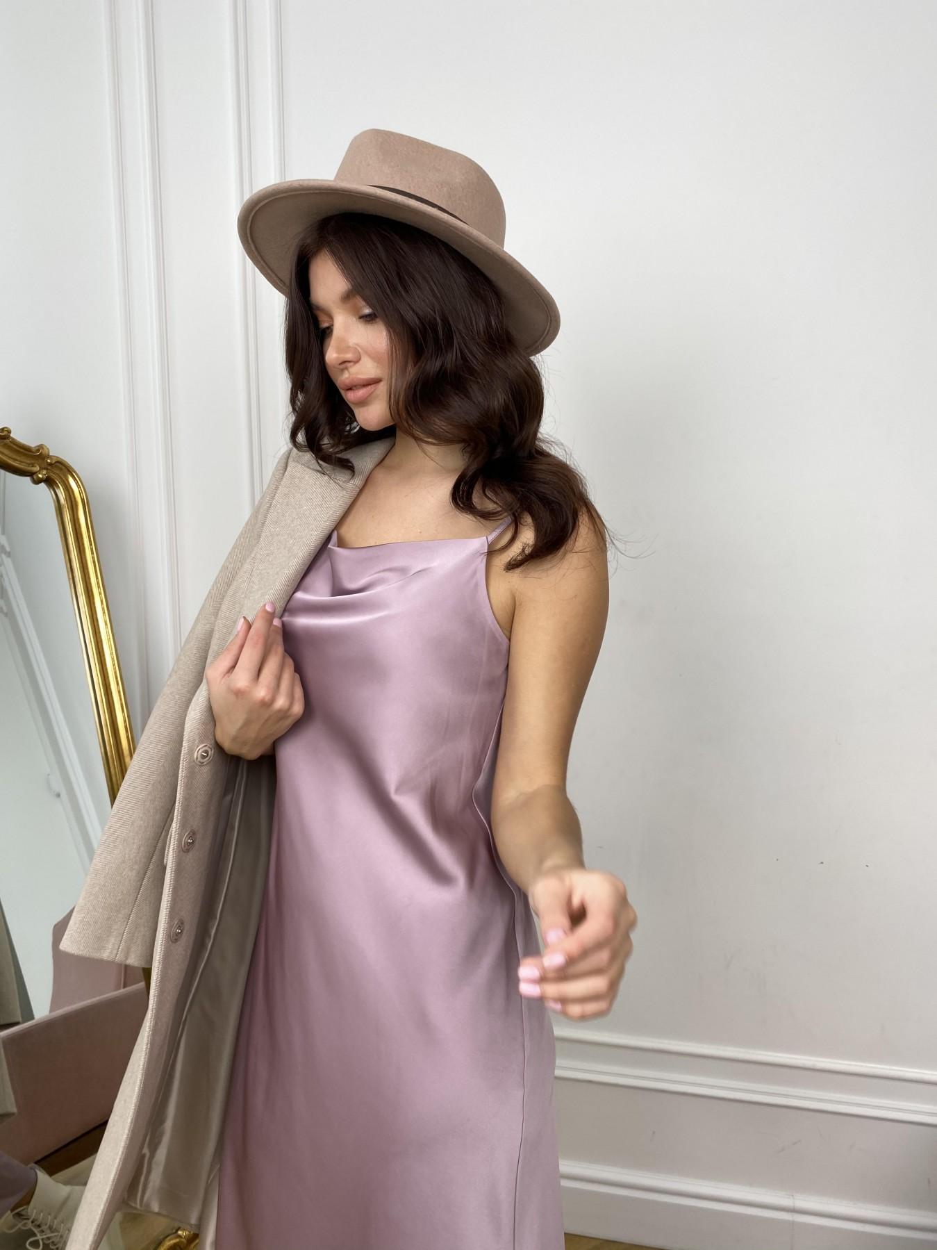 Камая Лайт платье из шелка 10611 АРТ. 46985 Цвет: Пудра - фото 7, интернет магазин tm-modus.ru