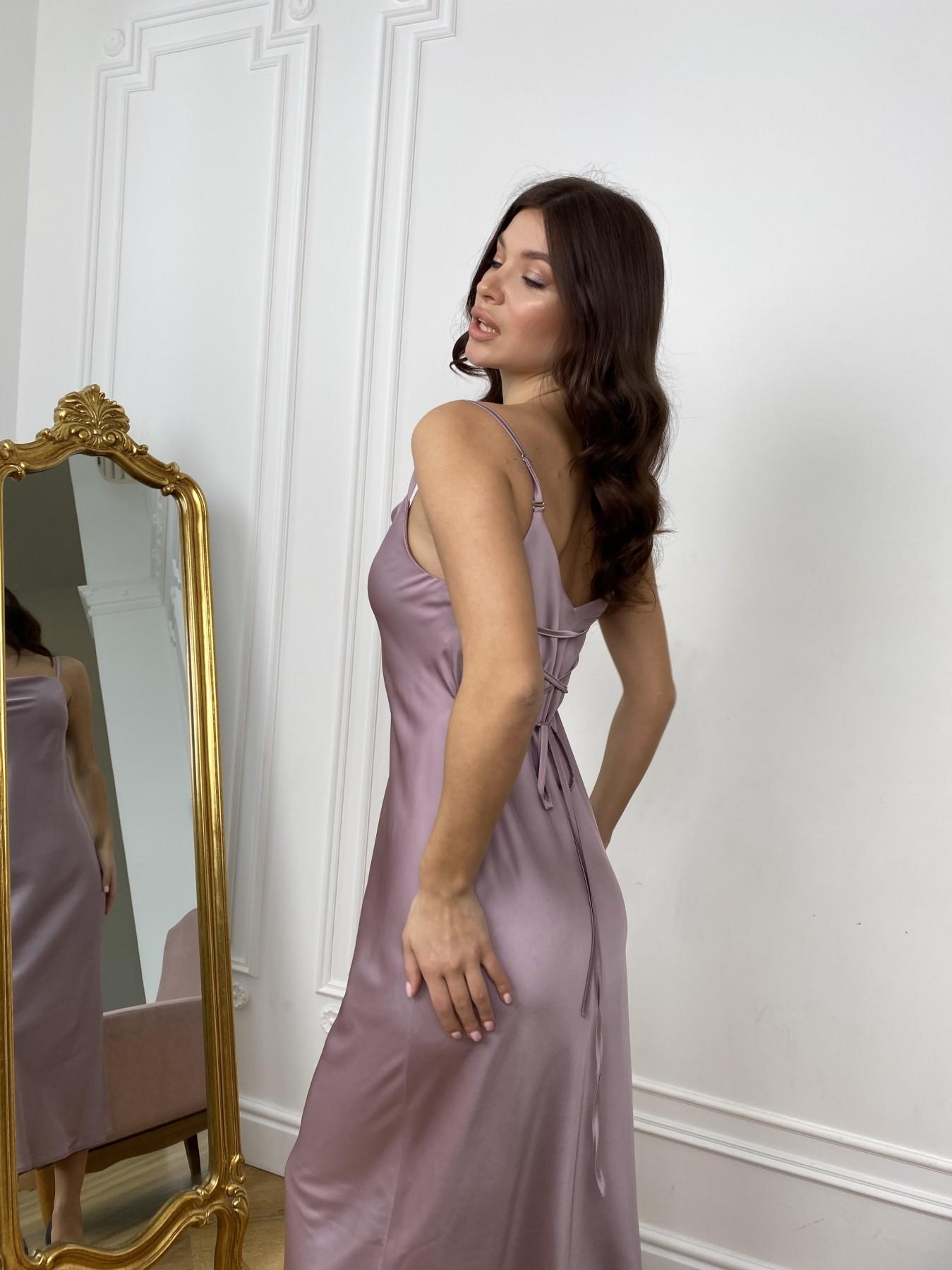 Камая Шелк платье 10605 АРТ. 46970 Цвет: Пудра - фото 5, интернет магазин tm-modus.ru