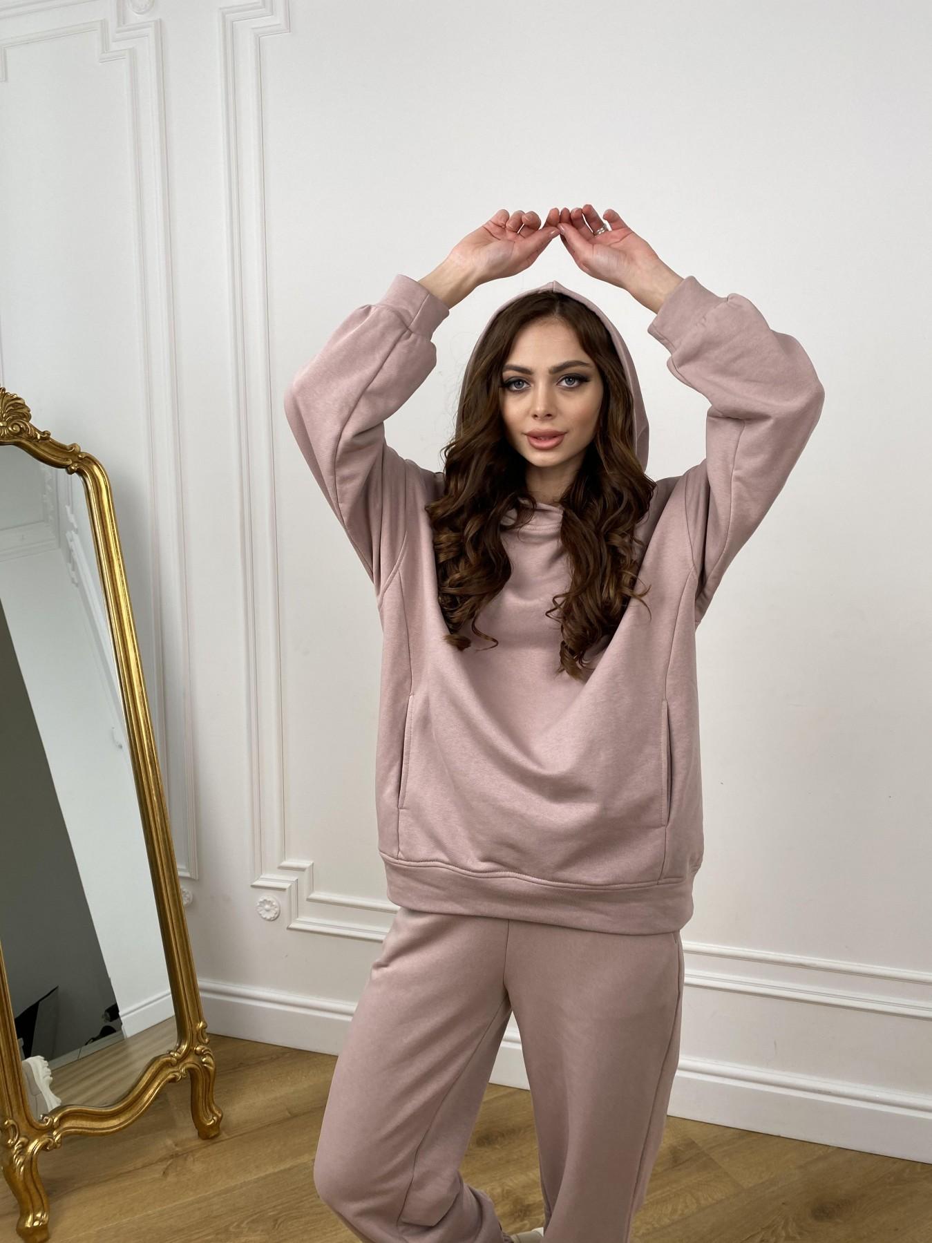 Марион костюм из 3х нитки 10581 АРТ. 46961 Цвет: Кофе - фото 2, интернет магазин tm-modus.ru