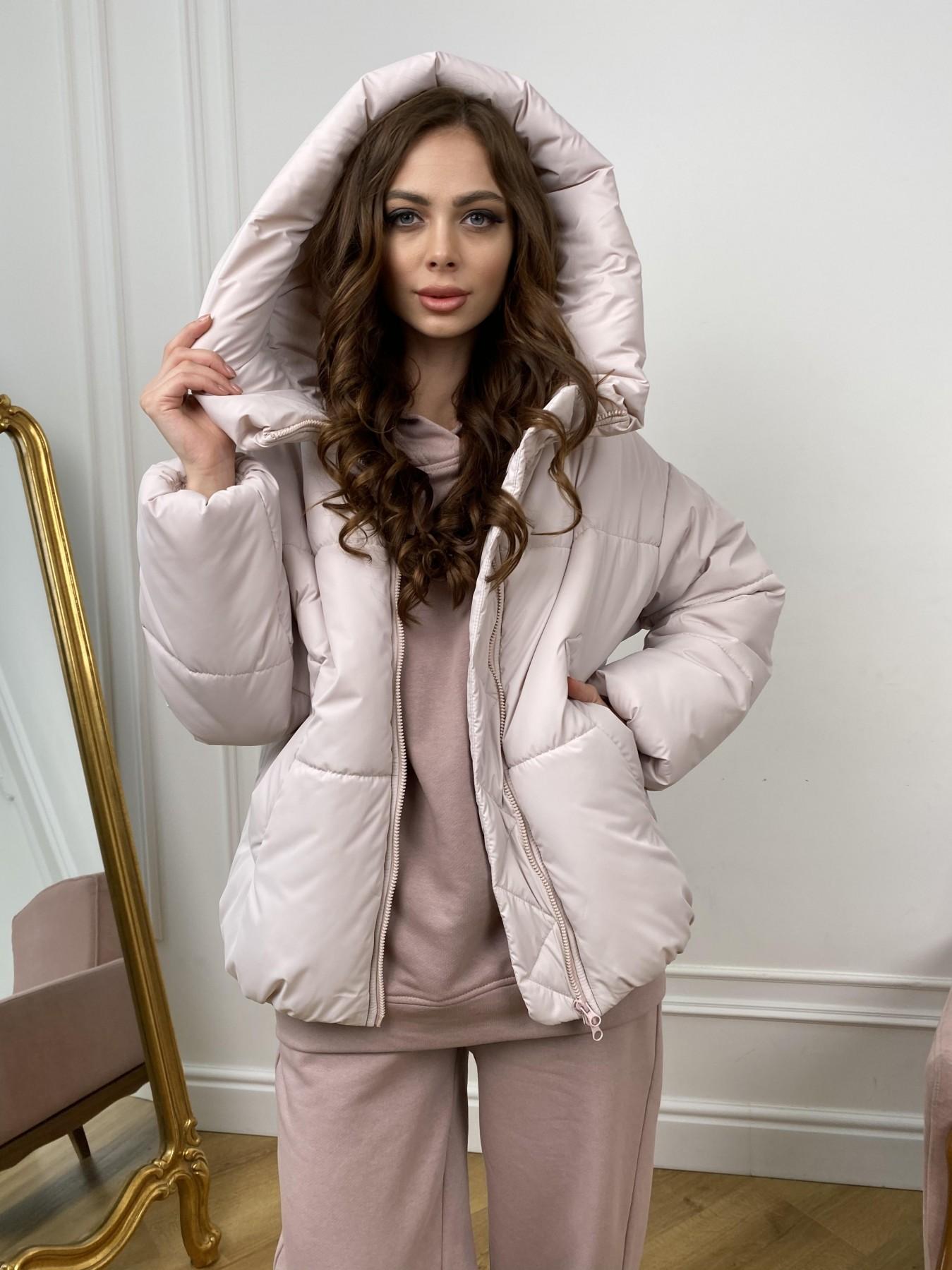 куртка пуховик женская Нокс куртка из плащевой ткани 10535