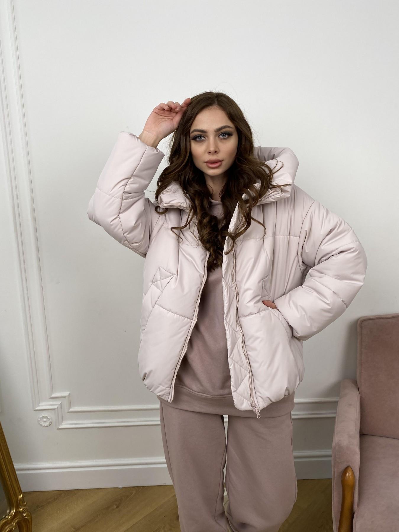Нокс куртка из плащевой ткани 10535 АРТ. 46973 Цвет: Молоко 970 - фото 2, интернет магазин tm-modus.ru