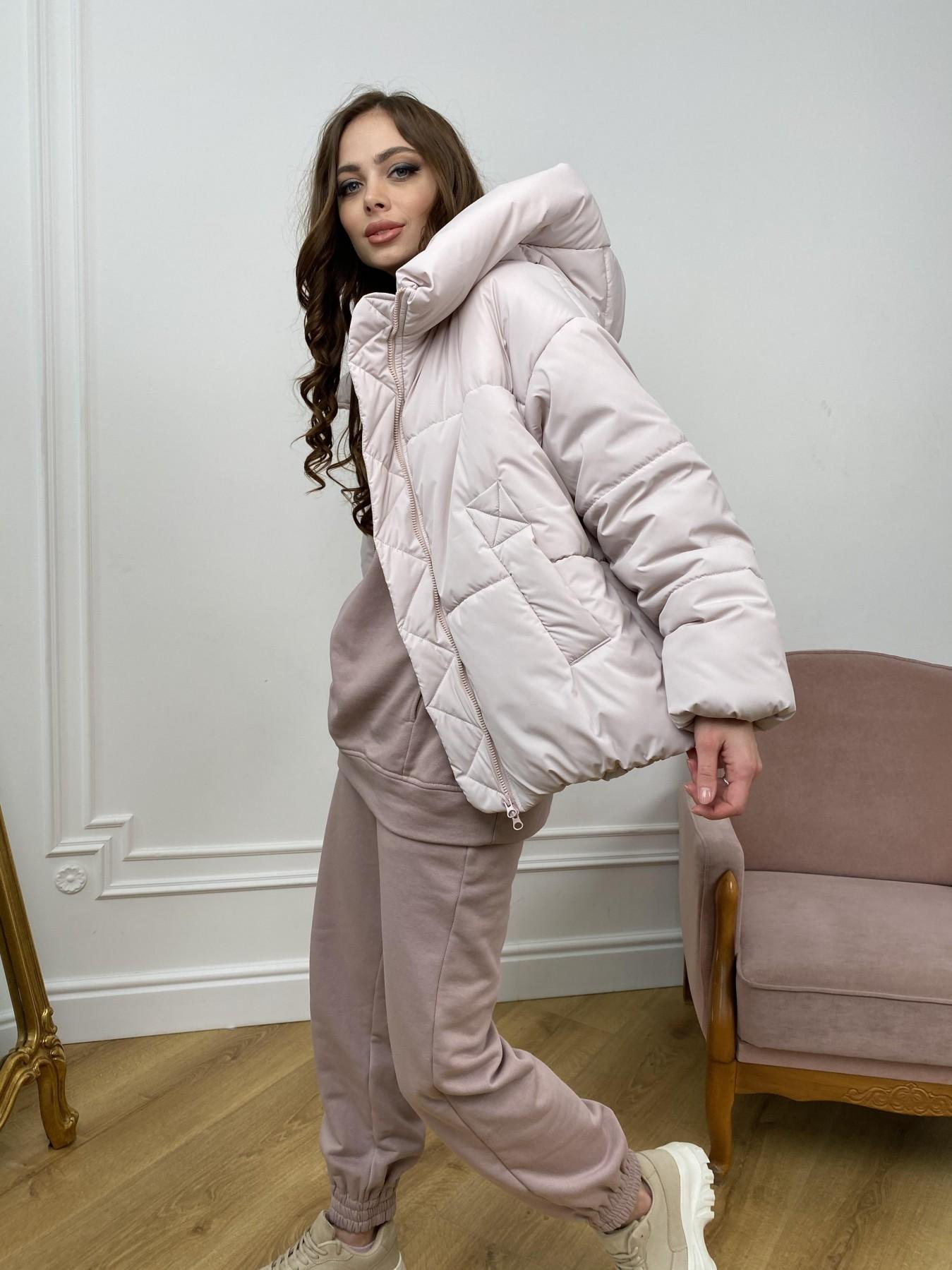 Нокс куртка из плащевой ткани 10535 АРТ. 46973 Цвет: Молоко 970 - фото 4, интернет магазин tm-modus.ru