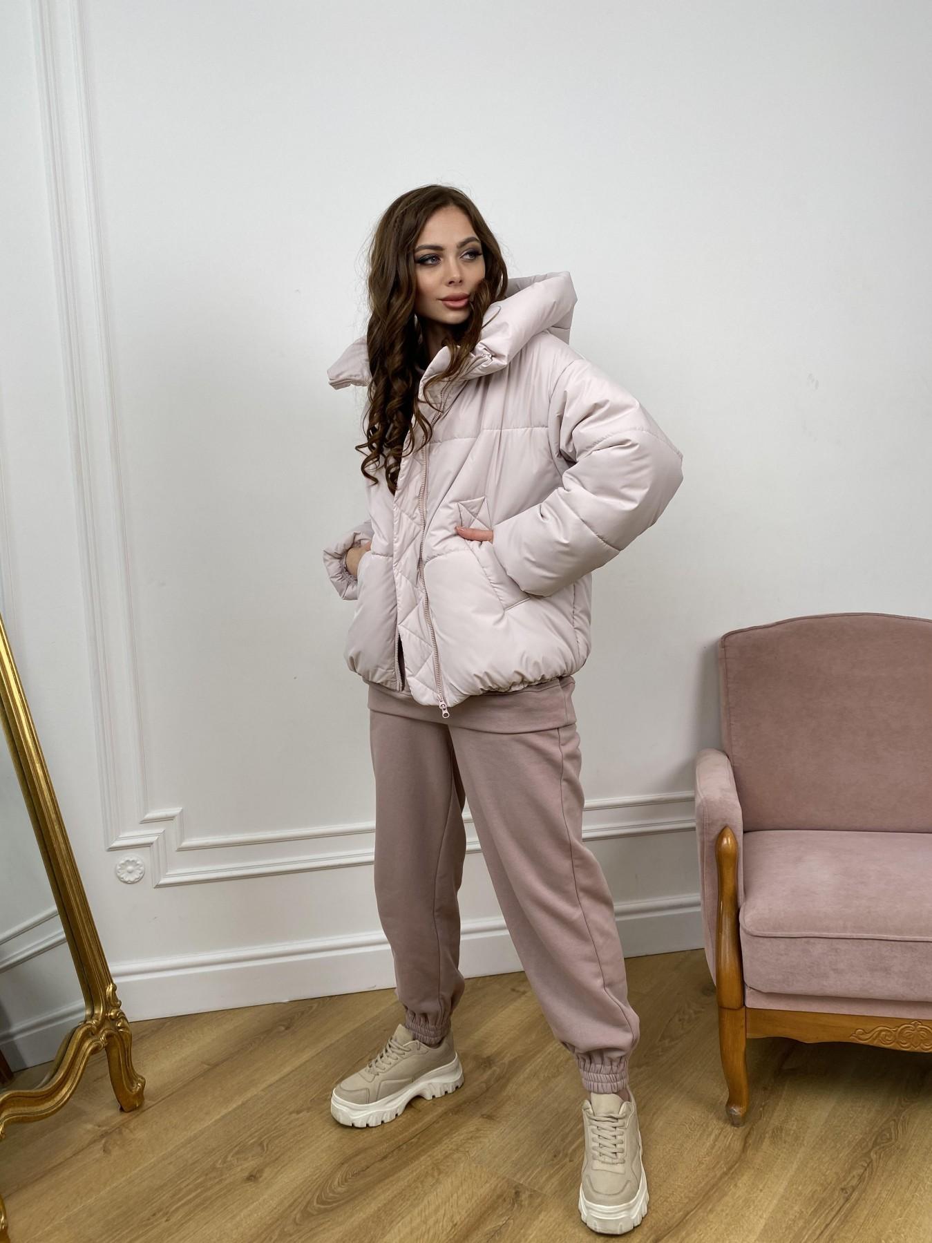 Нокс куртка из плащевой ткани 10535 АРТ. 46973 Цвет: Молоко 970 - фото 5, интернет магазин tm-modus.ru