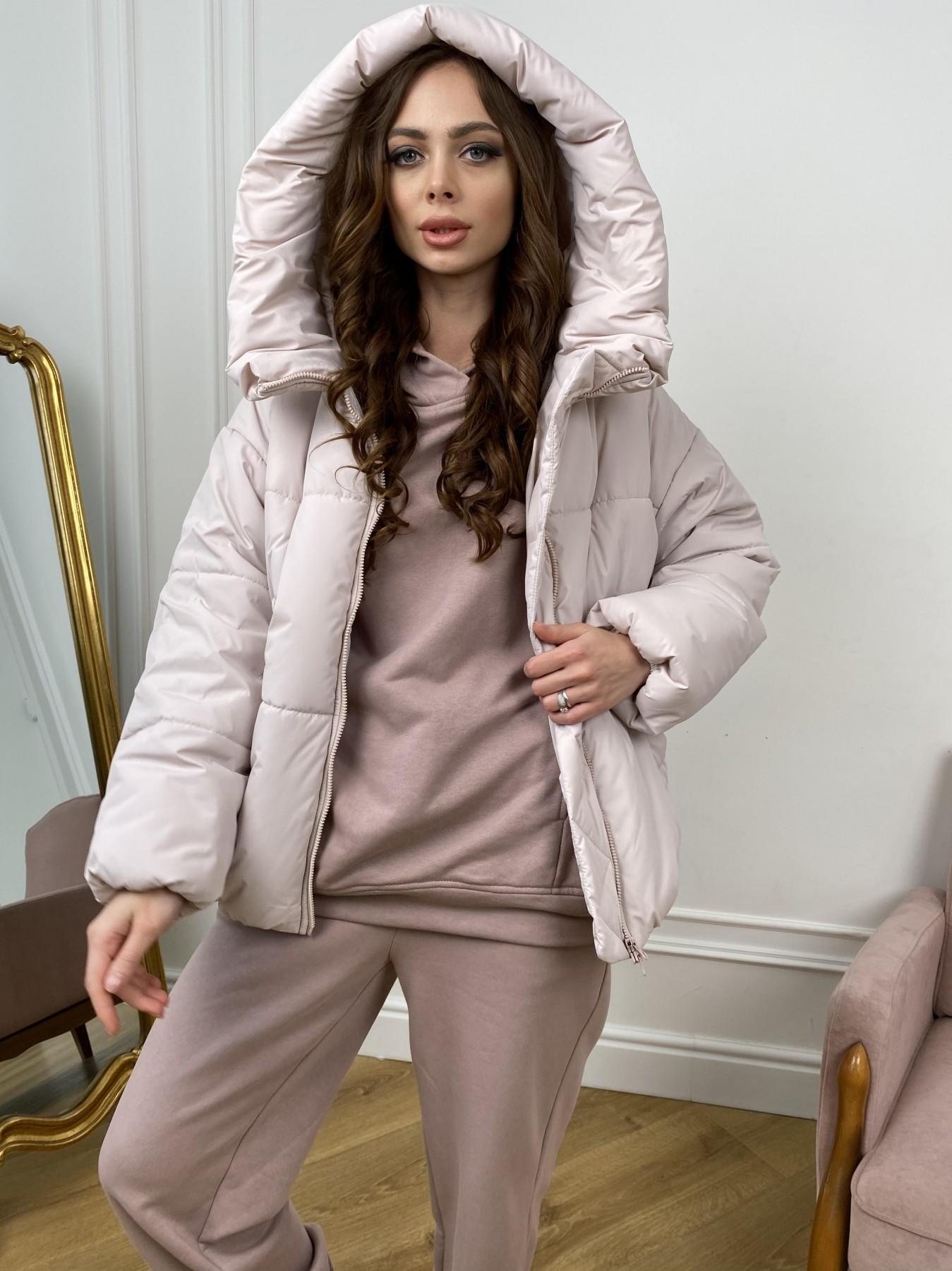 Нокс куртка из плащевой ткани 10535 АРТ. 46973 Цвет: Молоко 970 - фото 6, интернет магазин tm-modus.ru