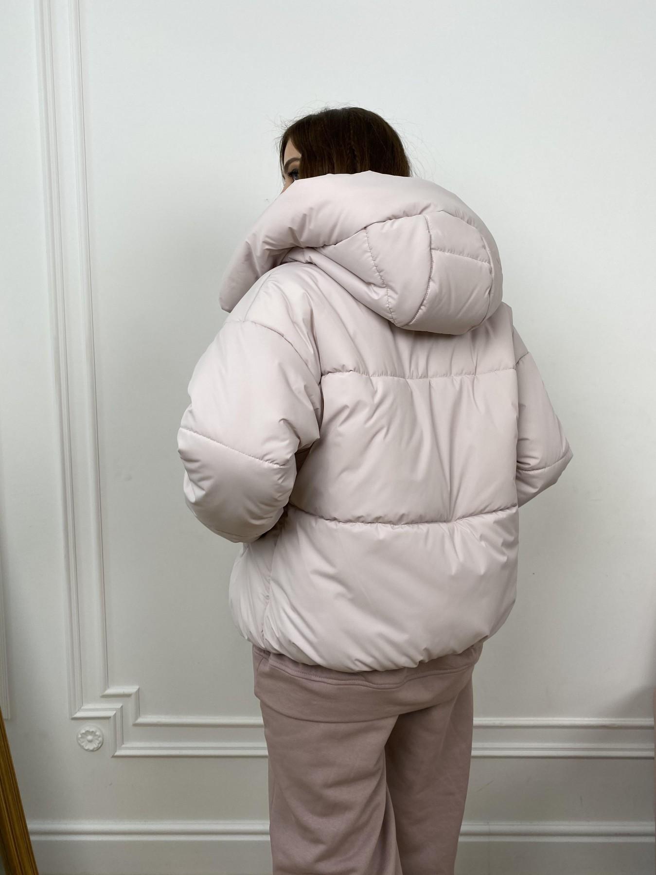 Нокс куртка из плащевой ткани 10535 АРТ. 46973 Цвет: Молоко 970 - фото 7, интернет магазин tm-modus.ru