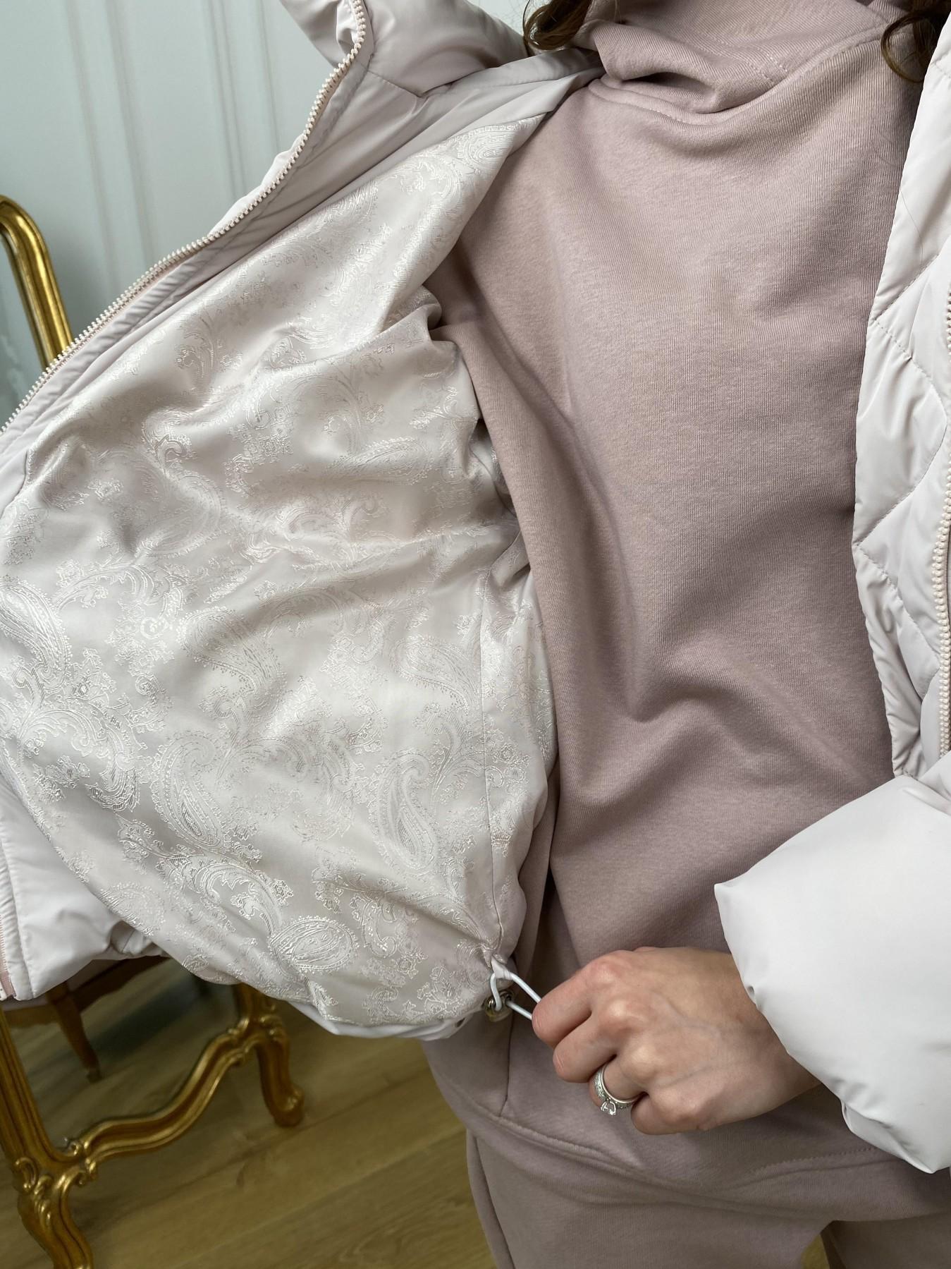 Нокс куртка из плащевой ткани 10535 АРТ. 46973 Цвет: Молоко 970 - фото 8, интернет магазин tm-modus.ru