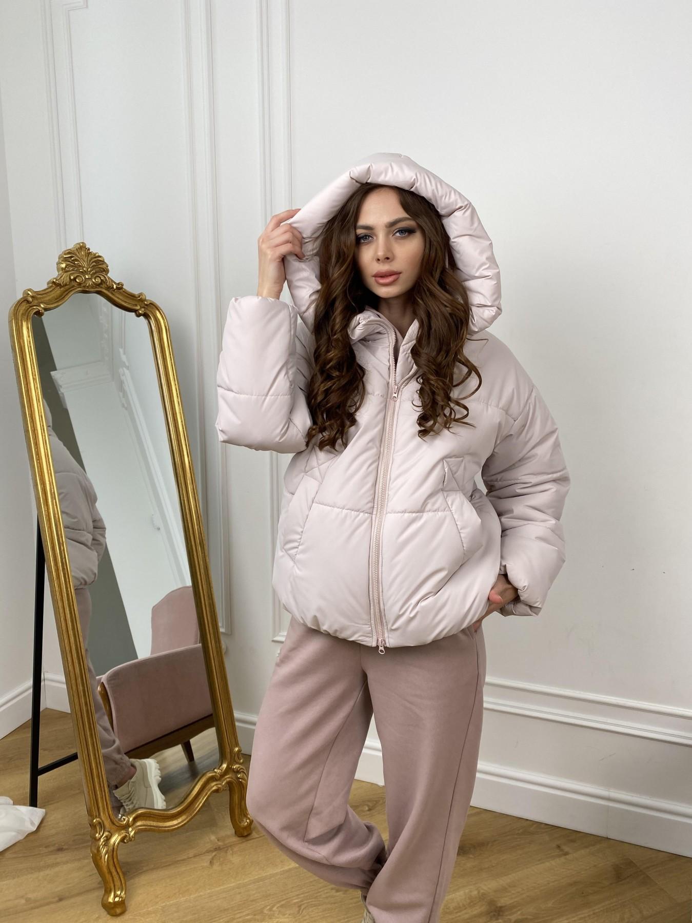 Нокс куртка из плащевой ткани 10535 АРТ. 46973 Цвет: Молоко 970 - фото 9, интернет магазин tm-modus.ru
