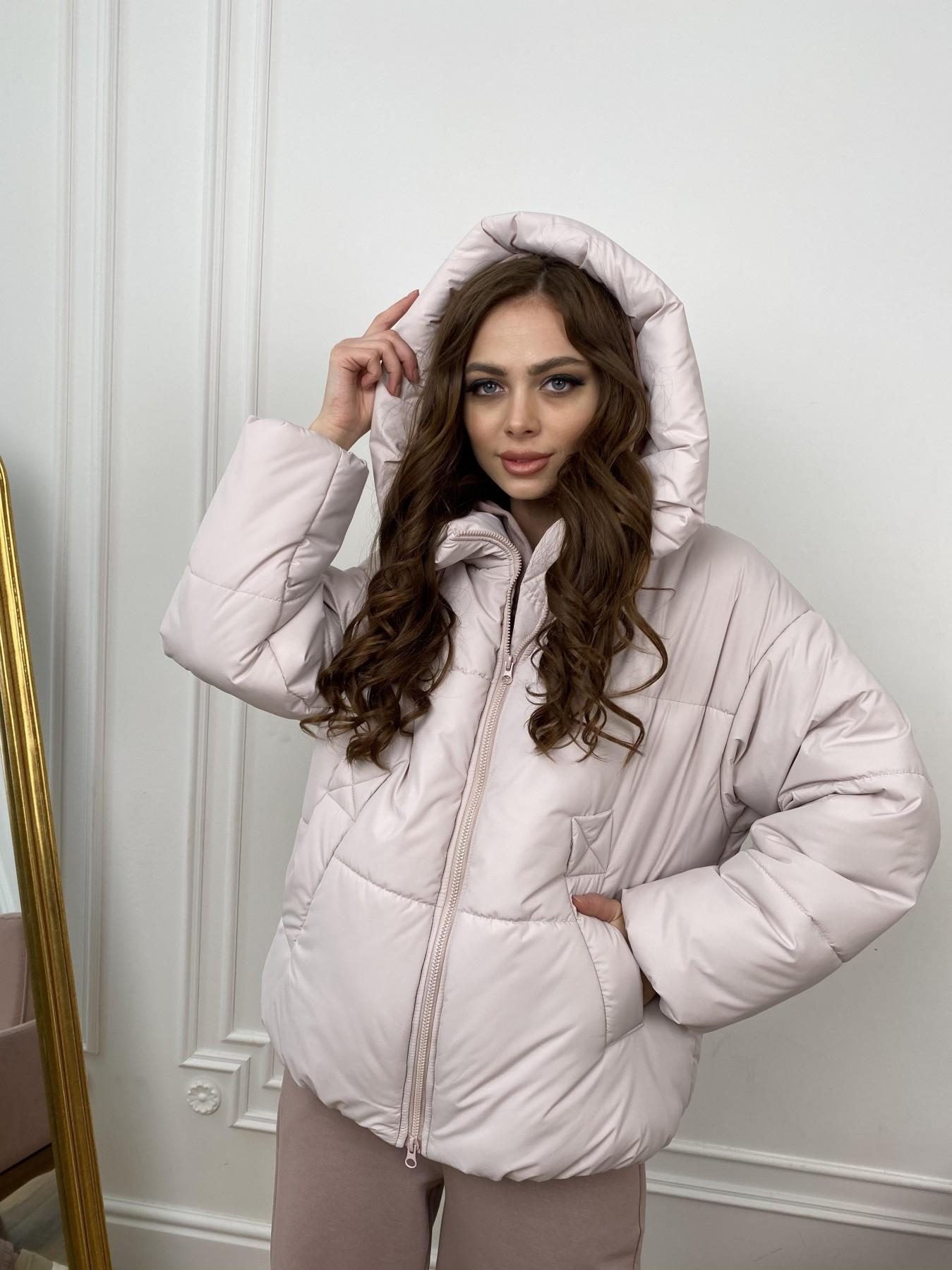 Нокс куртка из плащевой ткани 10535 АРТ. 46973 Цвет: Молоко 970 - фото 10, интернет магазин tm-modus.ru