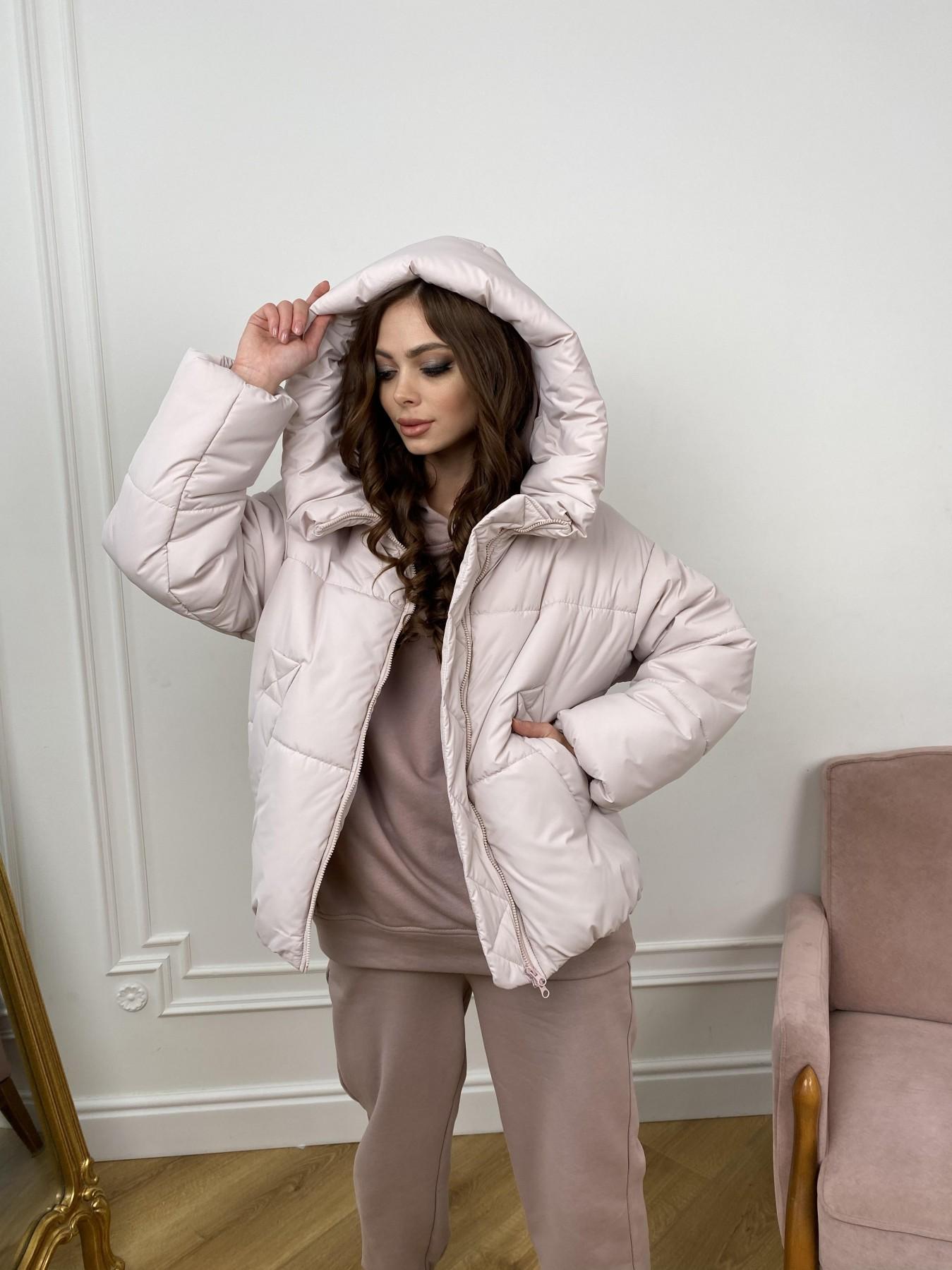 Нокс куртка из плащевой ткани 10535 АРТ. 46973 Цвет: Молоко 970 - фото 11, интернет магазин tm-modus.ru