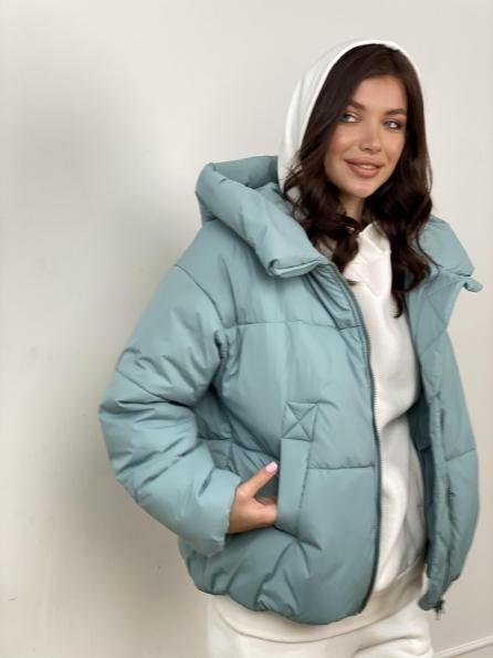 """Купить """"Нокс"""" куртка из плащевой ткани 10535 оптом и в розницу"""