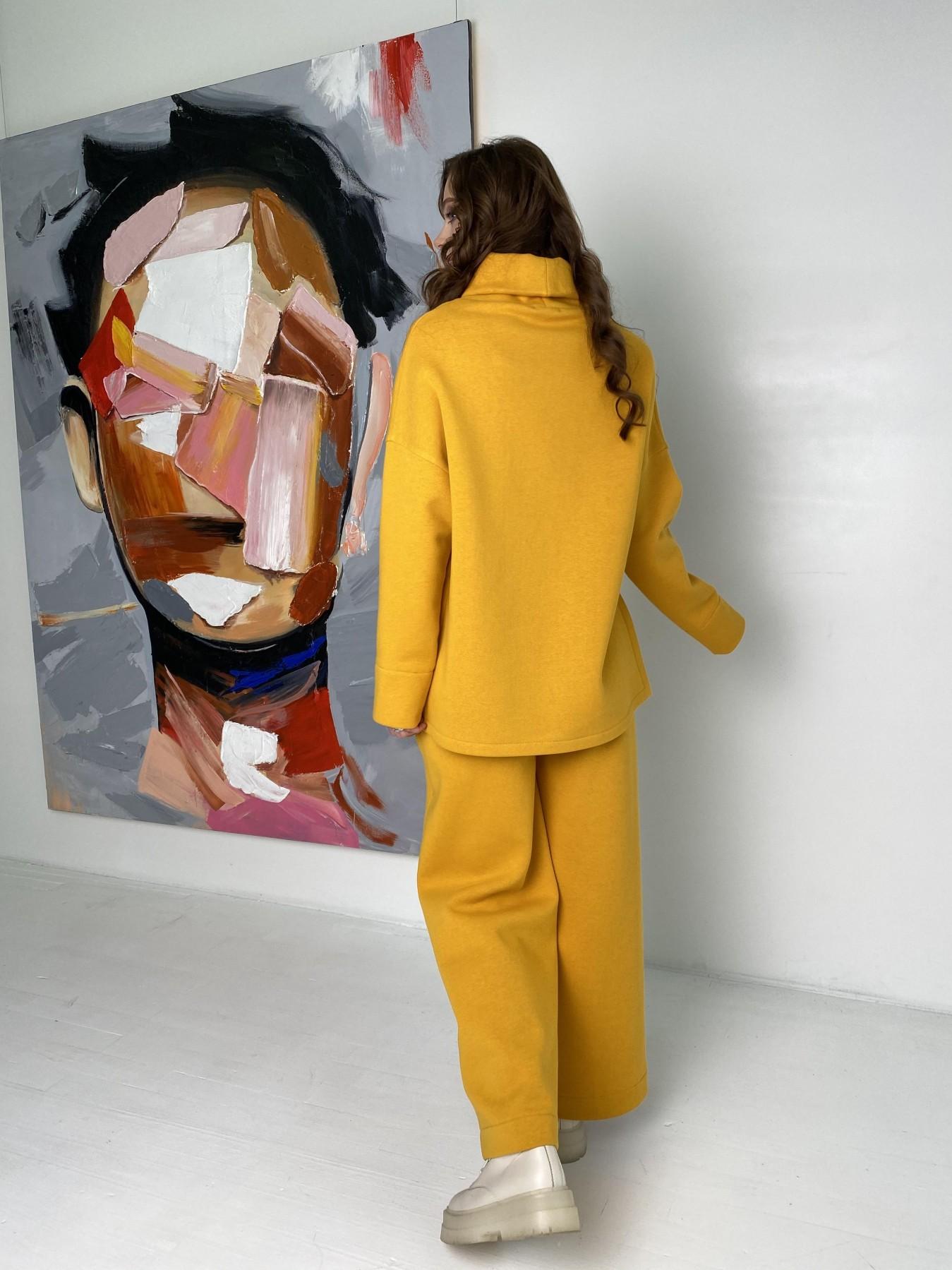 Джаст костюм на флисе 3х нитка 10513 АРТ. 47077 Цвет: Горчица - фото 10, интернет магазин tm-modus.ru