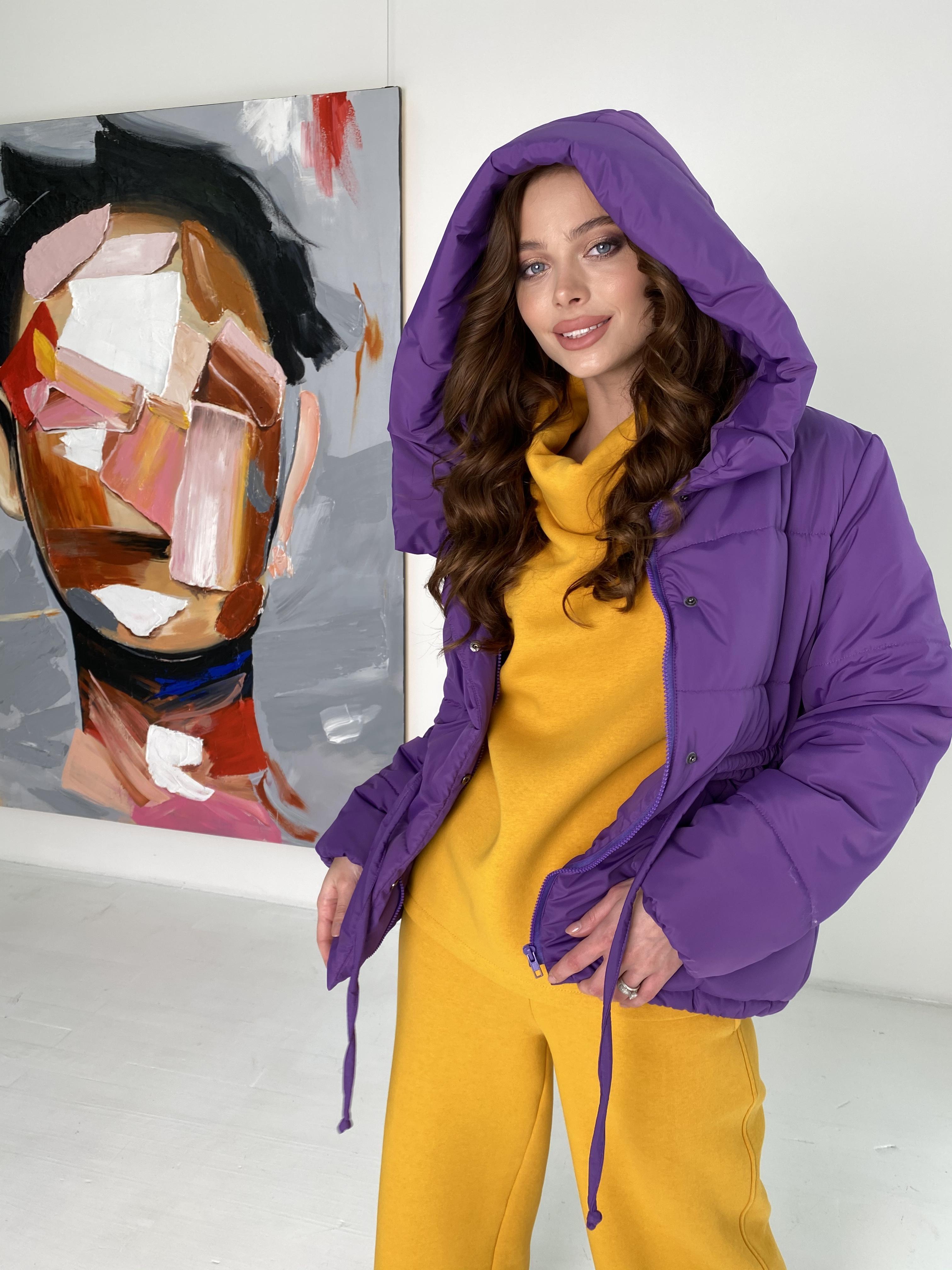 Пино куртка из плащевой ткани 10489 АРТ. 46804 Цвет: Сиреневый - фото 1, интернет магазин tm-modus.ru