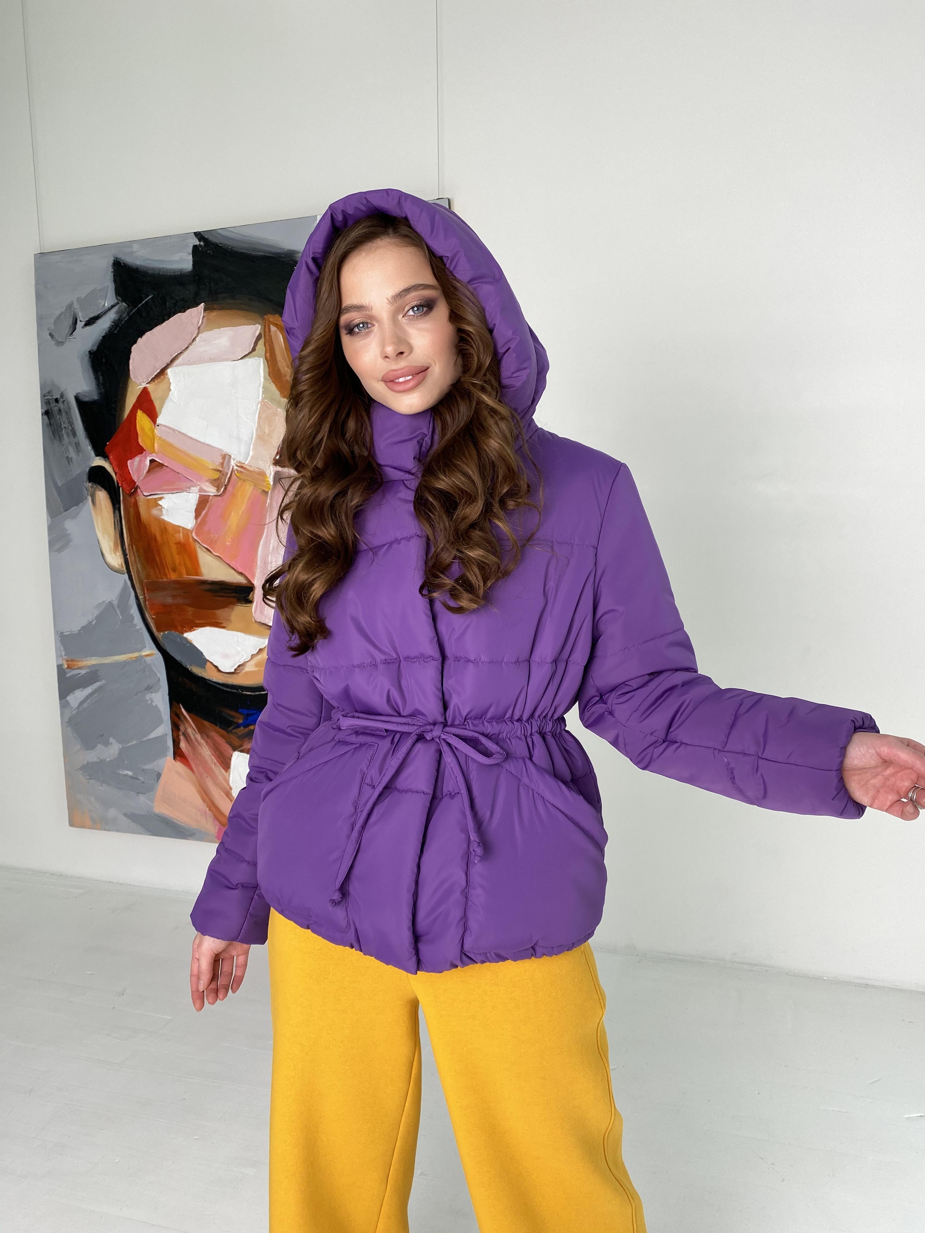 куртки оптом от производителя  Пино куртка из плащевой ткани 10489