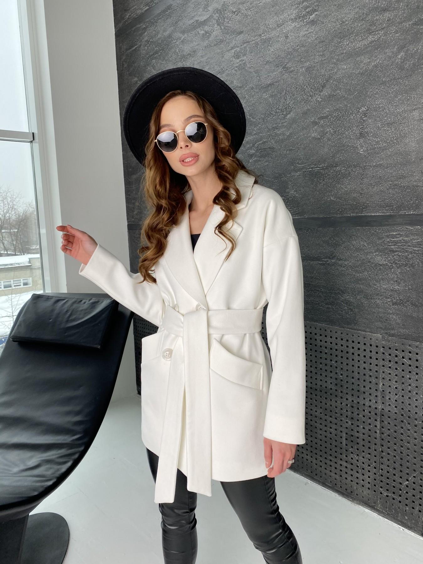 Бонд пальто из кашемира 10646 АРТ. 47011 Цвет: Молоко - фото 5, интернет магазин tm-modus.ru