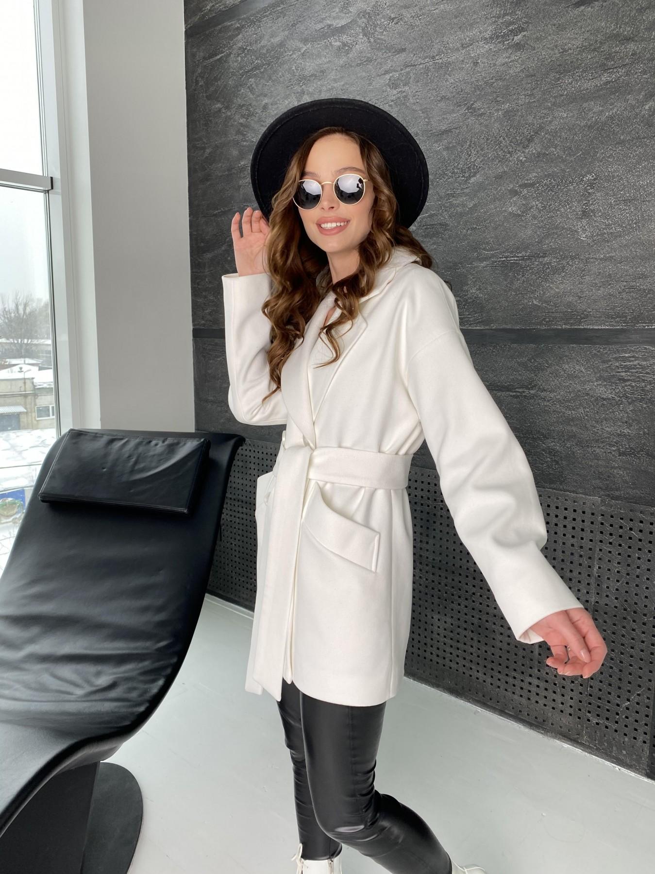 Бонд пальто из кашемира 10646 АРТ. 47011 Цвет: Молоко - фото 8, интернет магазин tm-modus.ru