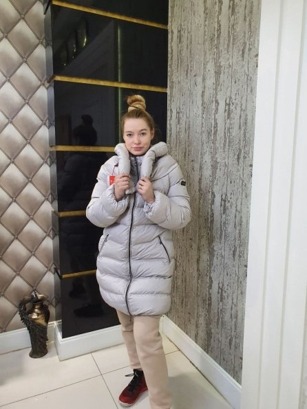 Купить Риана плащевка пальто Зима оптом и в розницу