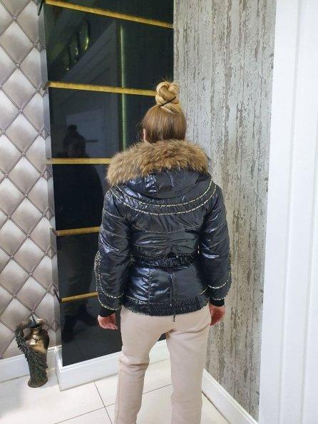 Купить Эверест Енот плащевка куртка Зима 10709 оптом и в розницу