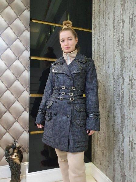 Купить Цунами плащевка куртка Зима 10714 оптом и в розницу