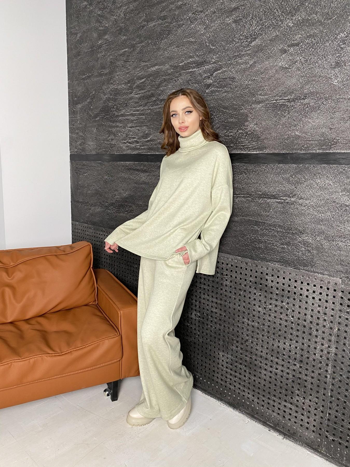 Лав Ю костюм из ангоры 10531 АРТ. 46873 Цвет: Фисташковый - фото 1, интернет магазин tm-modus.ru
