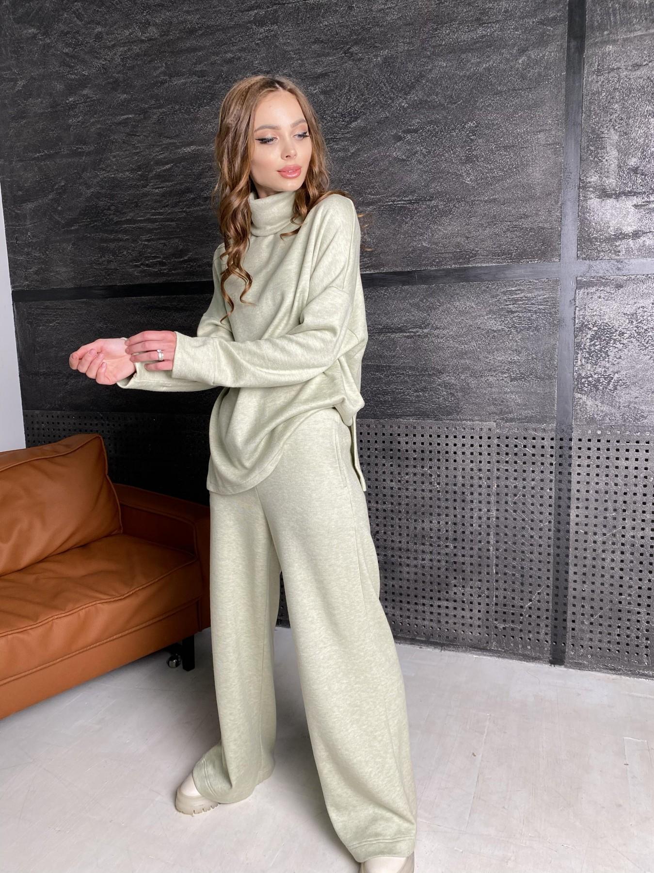 Лав Ю костюм из ангоры 10531 АРТ. 46873 Цвет: Фисташковый - фото 6, интернет магазин tm-modus.ru