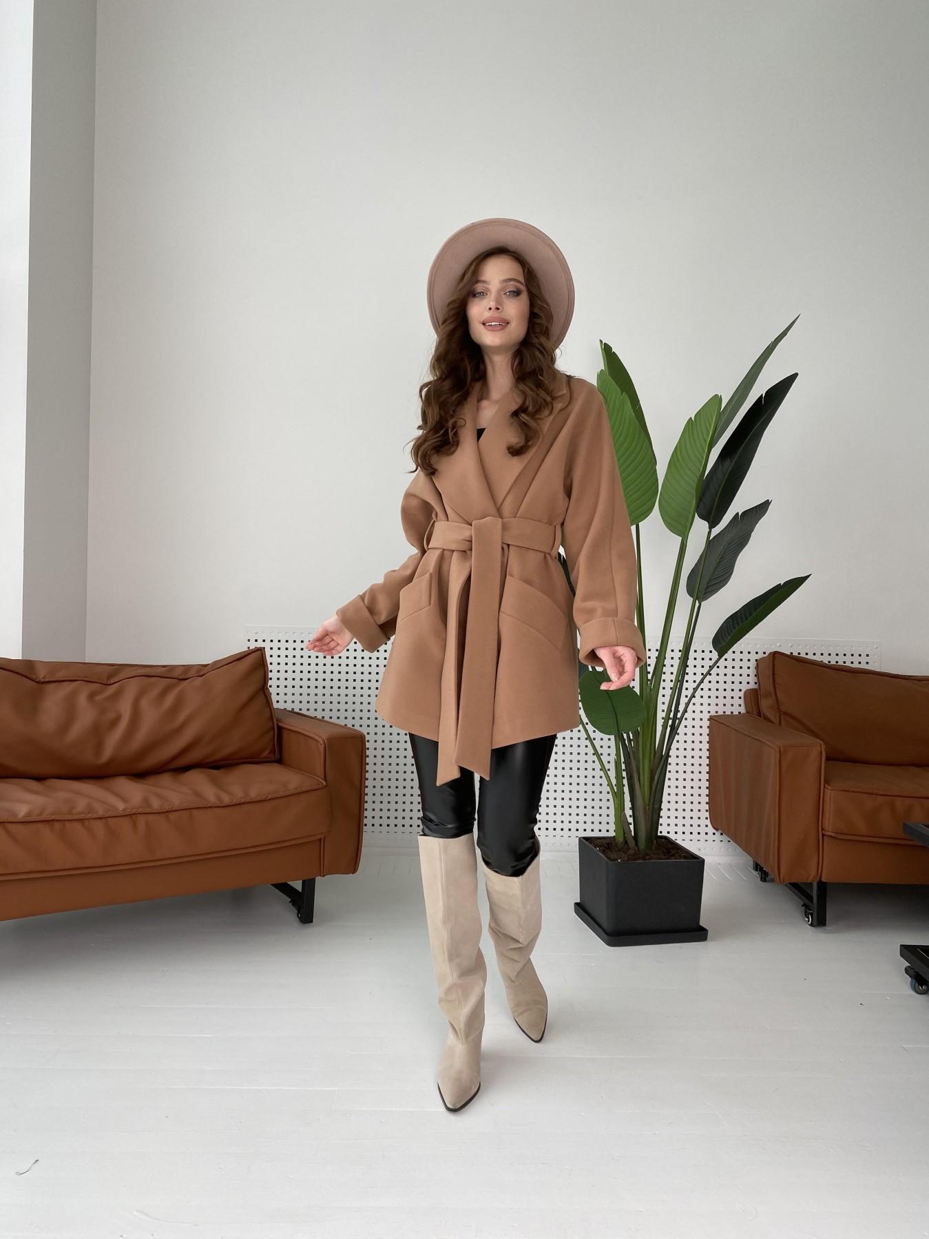 Дефиле пальто из кашемира 10585 АРТ. 46939 Цвет: Кемел - фото 4, интернет магазин tm-modus.ru