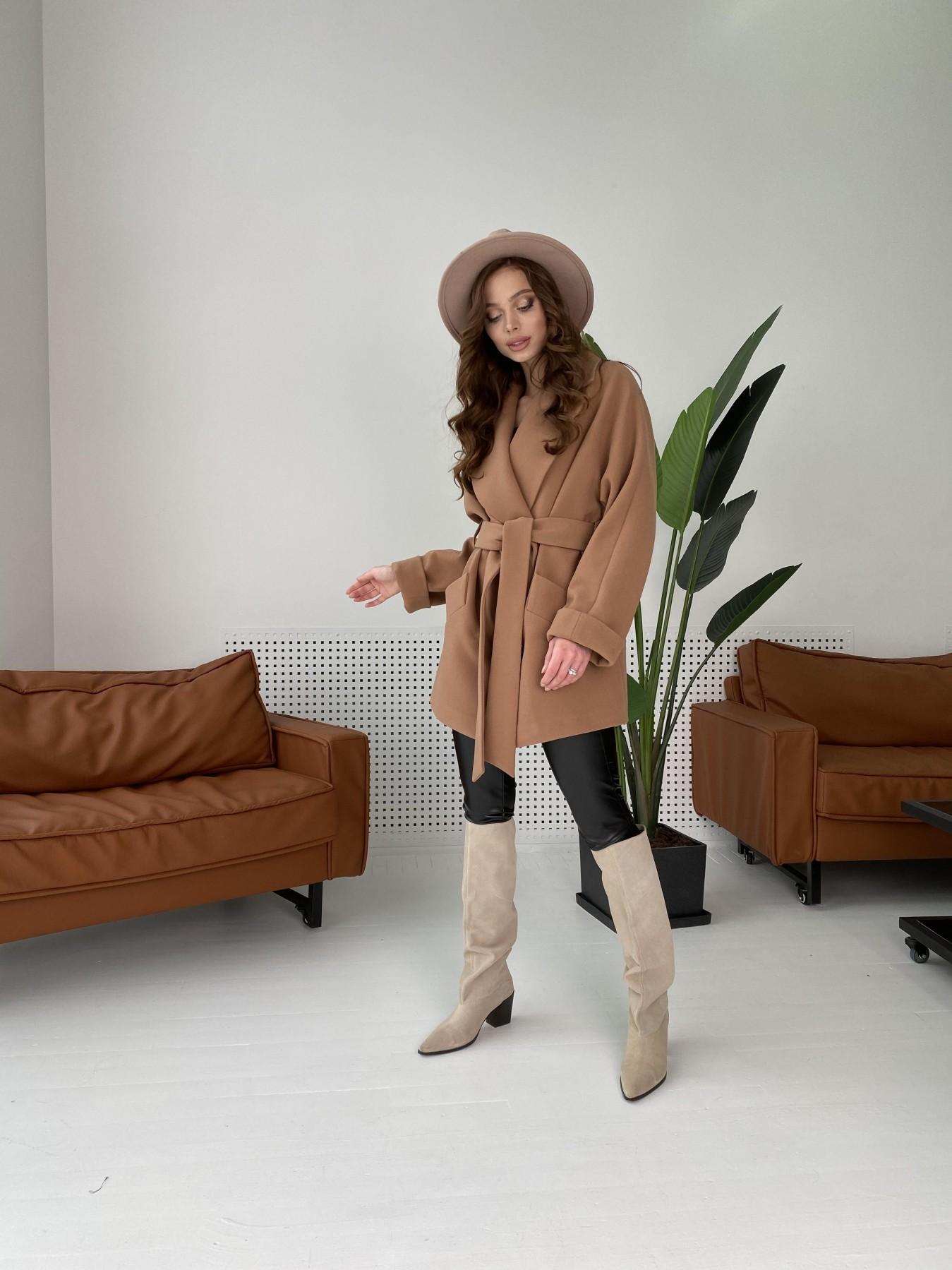 Дефиле пальто из кашемира 10585 АРТ. 46939 Цвет: Кемел - фото 5, интернет магазин tm-modus.ru
