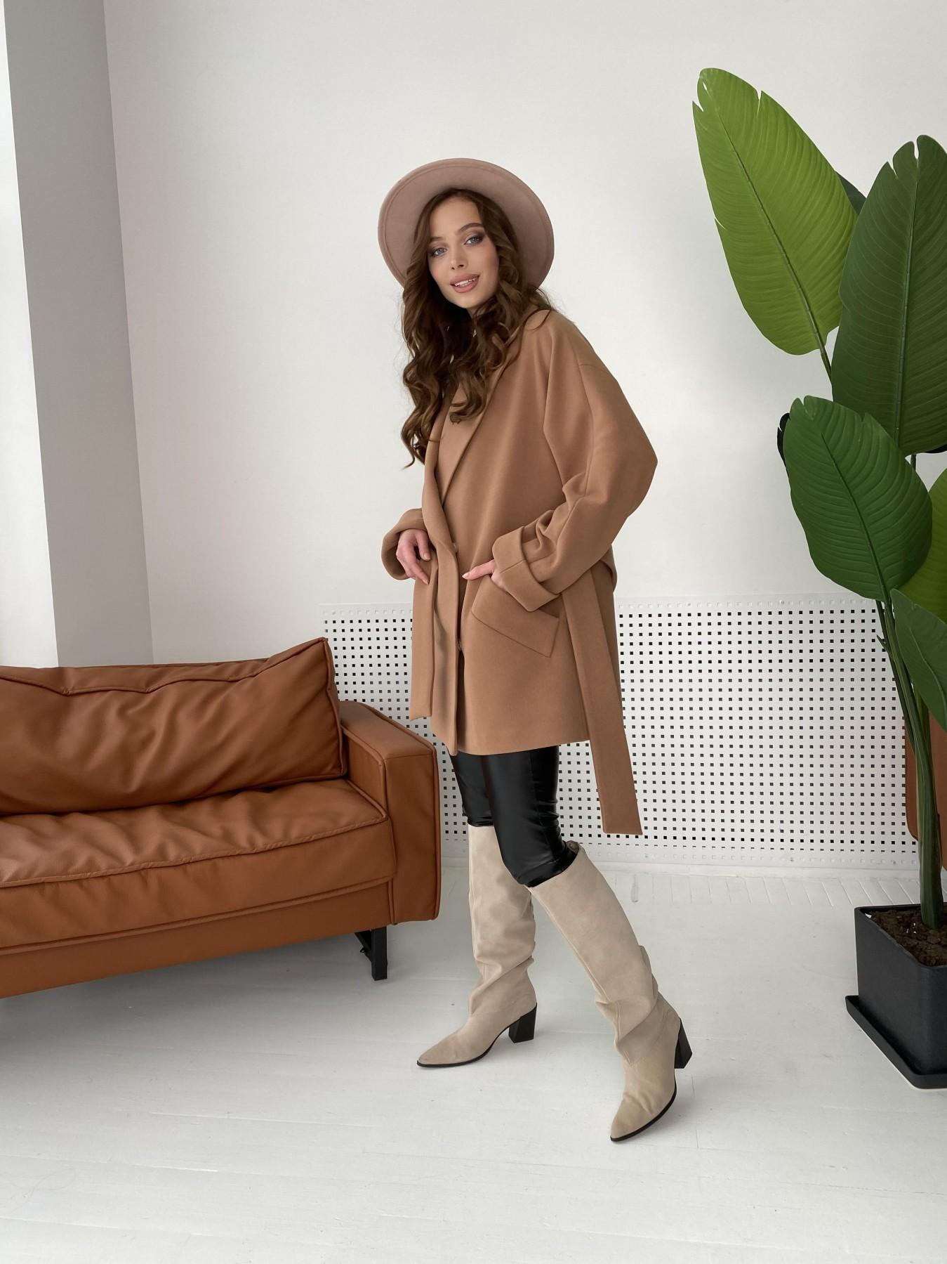 Дефиле пальто из кашемира 10585 АРТ. 46939 Цвет: Кемел - фото 6, интернет магазин tm-modus.ru