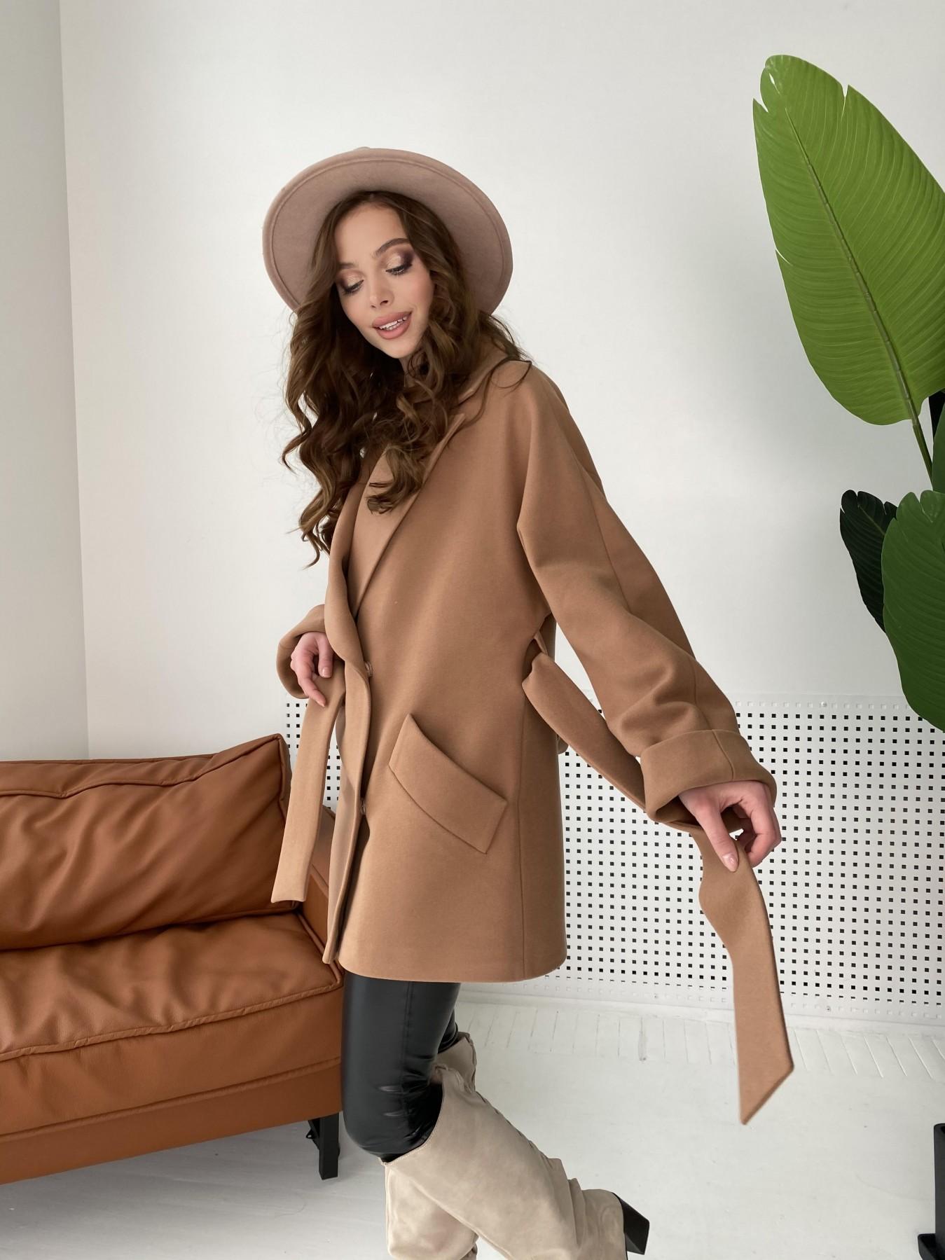 Дефиле пальто из кашемира 10585 АРТ. 46939 Цвет: Кемел - фото 7, интернет магазин tm-modus.ru