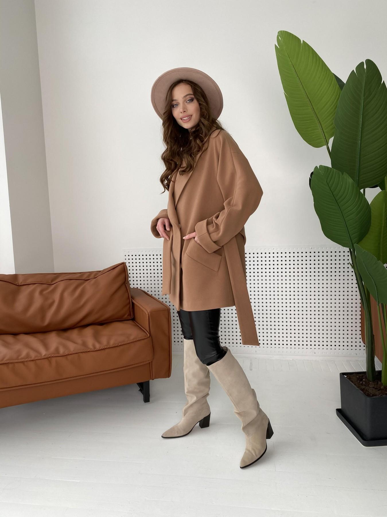 Дефиле пальто из кашемира 10585 АРТ. 46939 Цвет: Кемел - фото 8, интернет магазин tm-modus.ru
