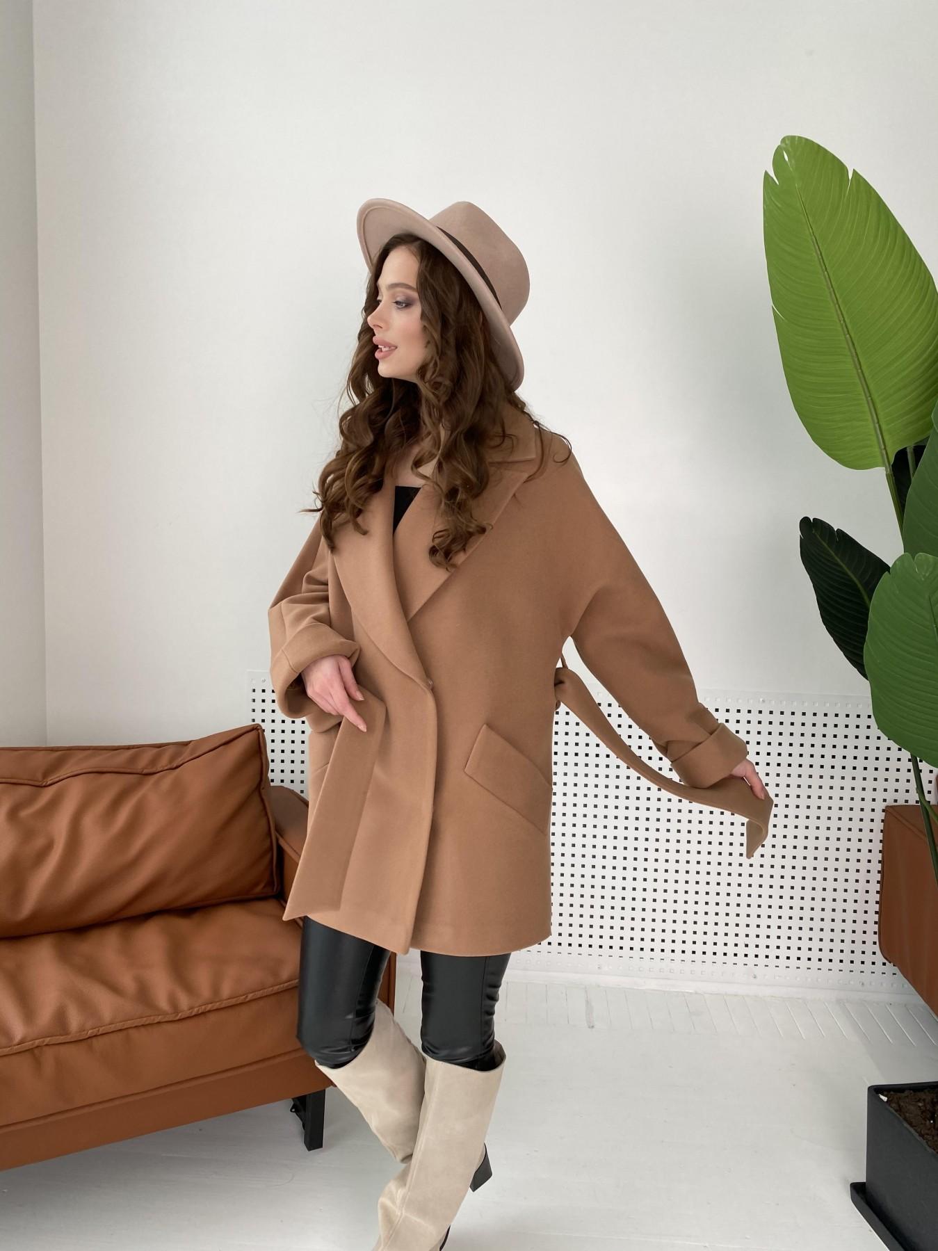 Дефиле пальто из кашемира 10585 АРТ. 46939 Цвет: Кемел - фото 9, интернет магазин tm-modus.ru