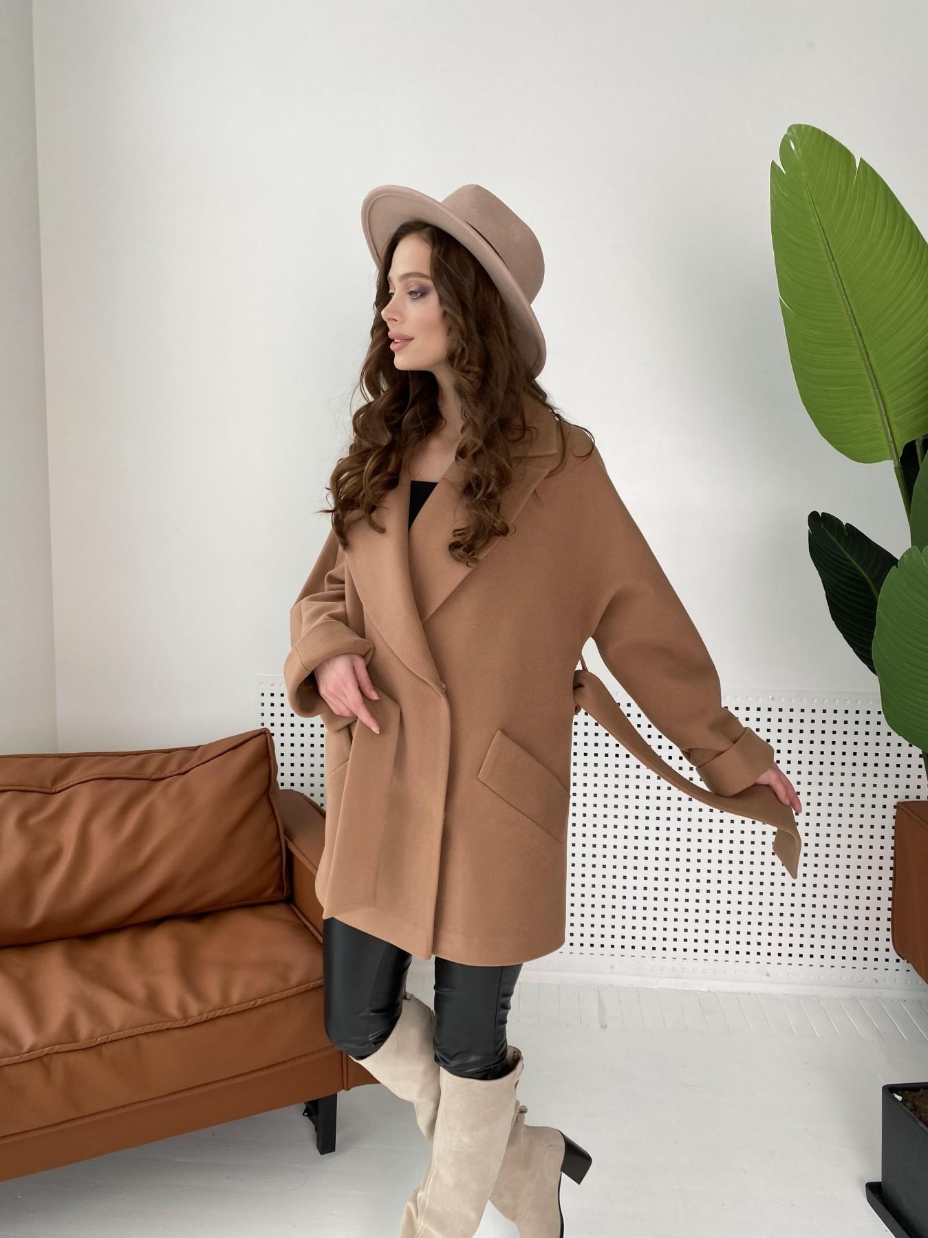 Дефиле пальто из кашемира 10585 АРТ. 46939 Цвет: Кемел - фото 10, интернет магазин tm-modus.ru