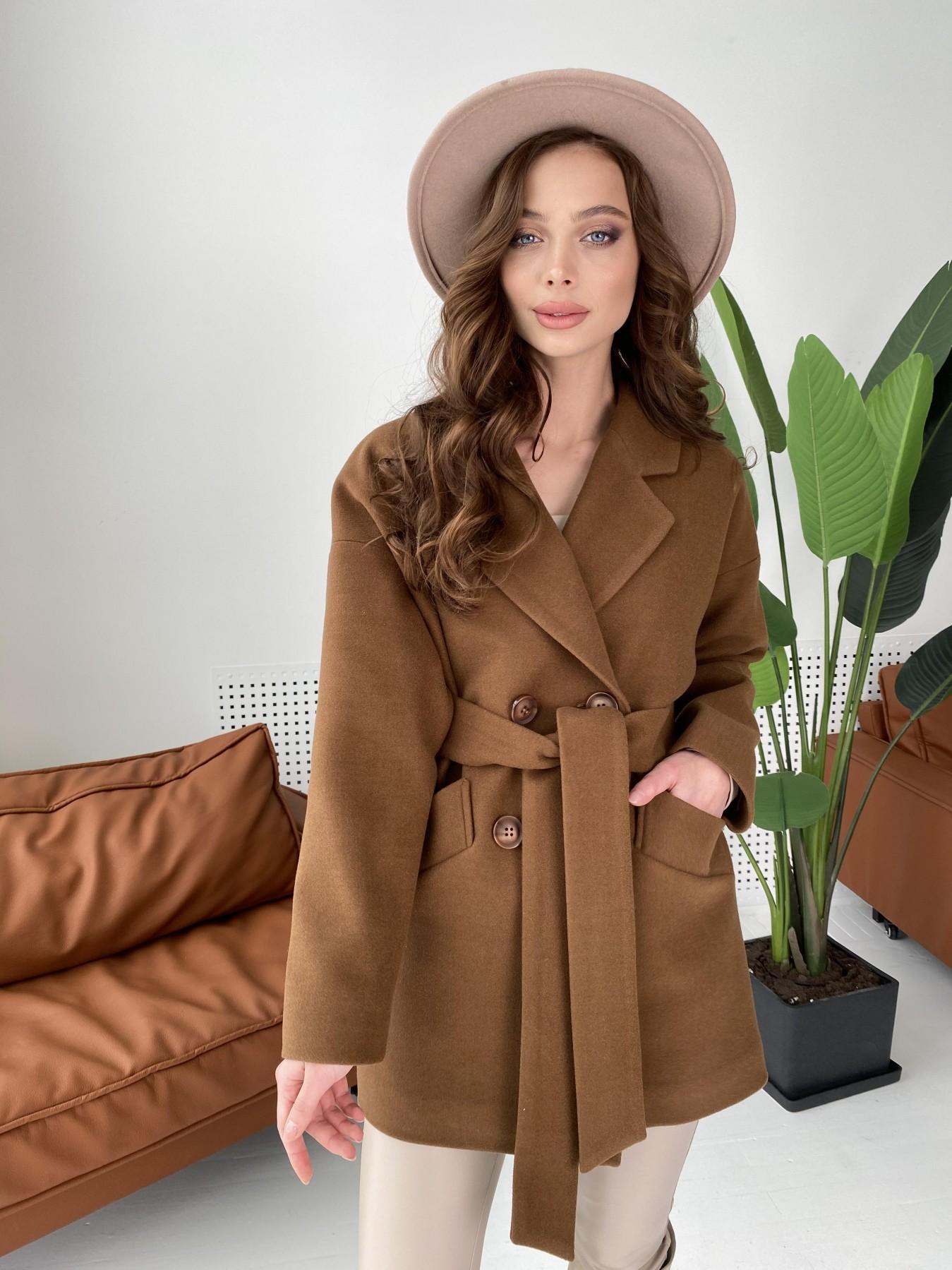 Купить пальто демисезонное от Modus Бонд пальто кашемировое на трикотаже 10642