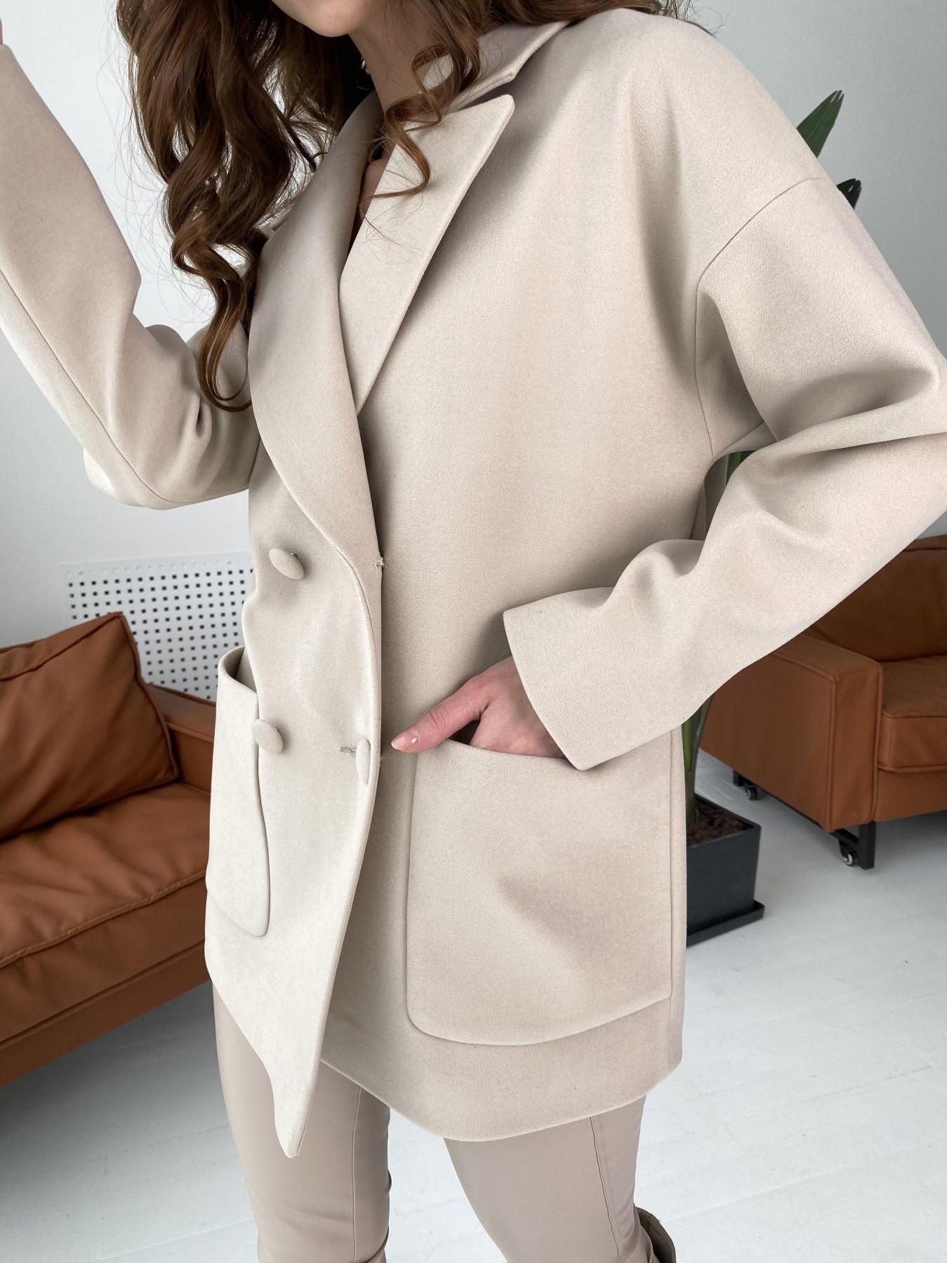 Мансера пальто из кашемира 10635 Цвет: Бежевый Светлый