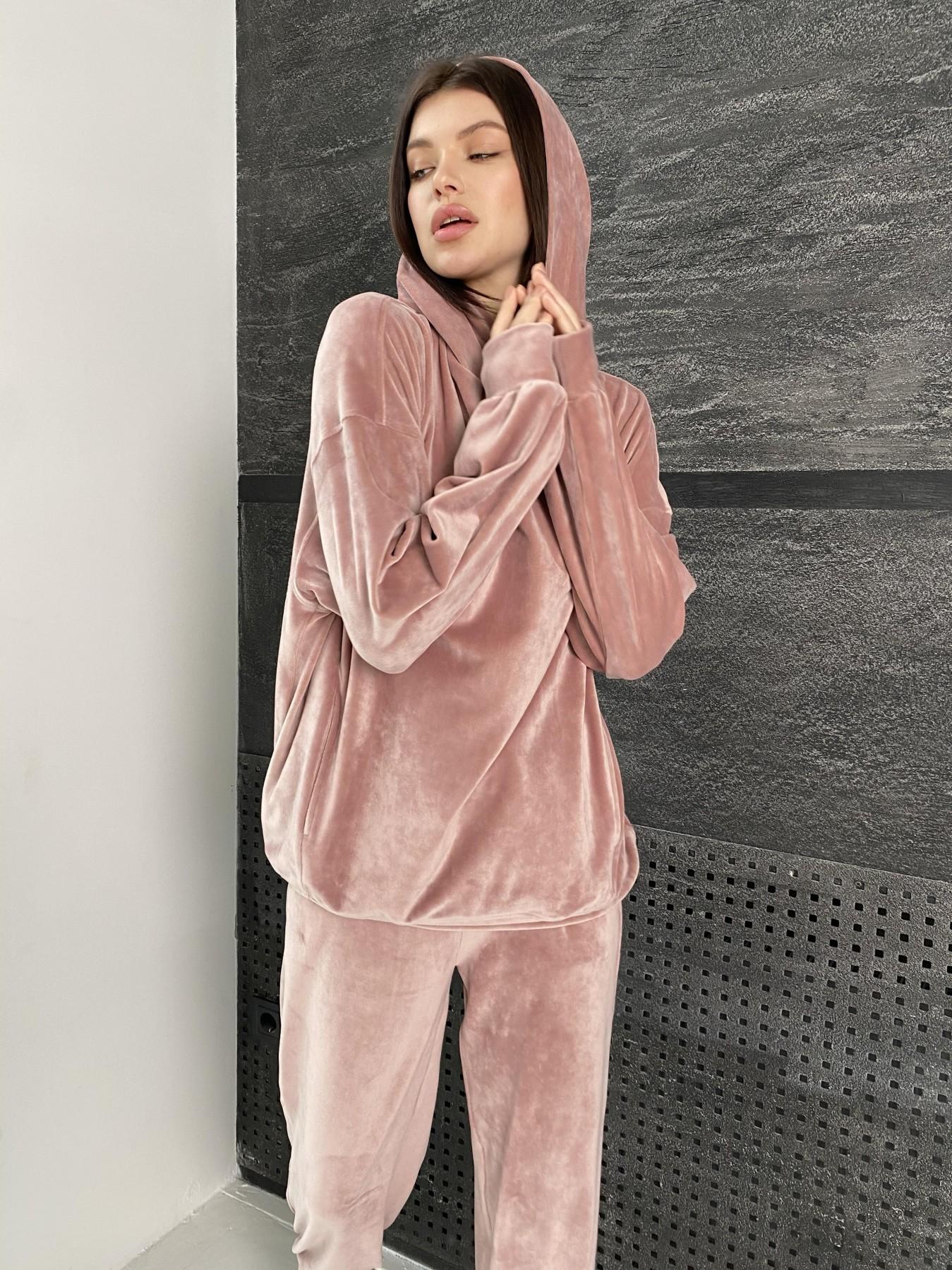 Купить женские костюмы оптом  Марион Oversize  костюм из велюра 10690