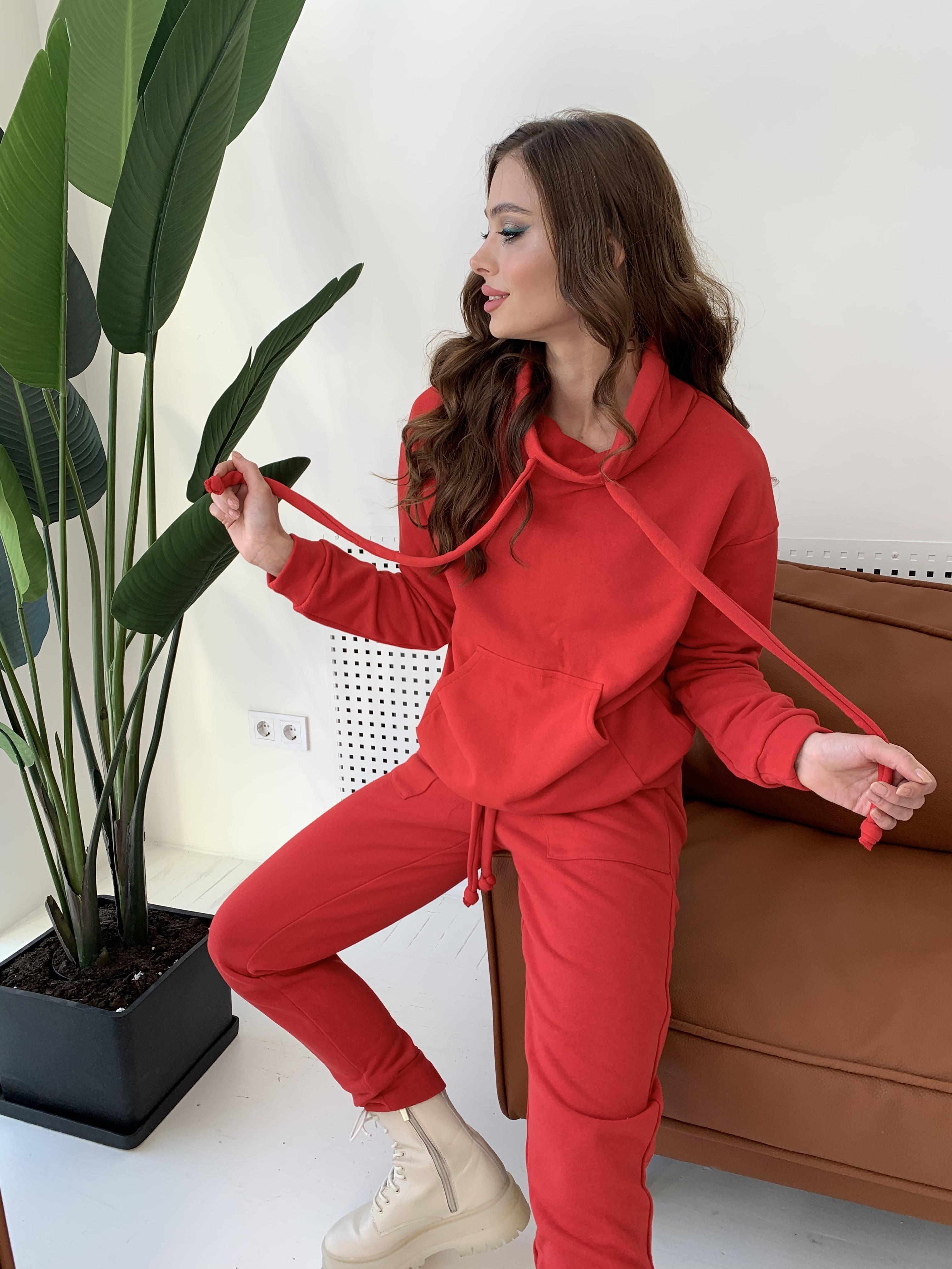Костюм Фира 8994 АРТ. 45543 Цвет: Красный - фото 3, интернет магазин tm-modus.ru