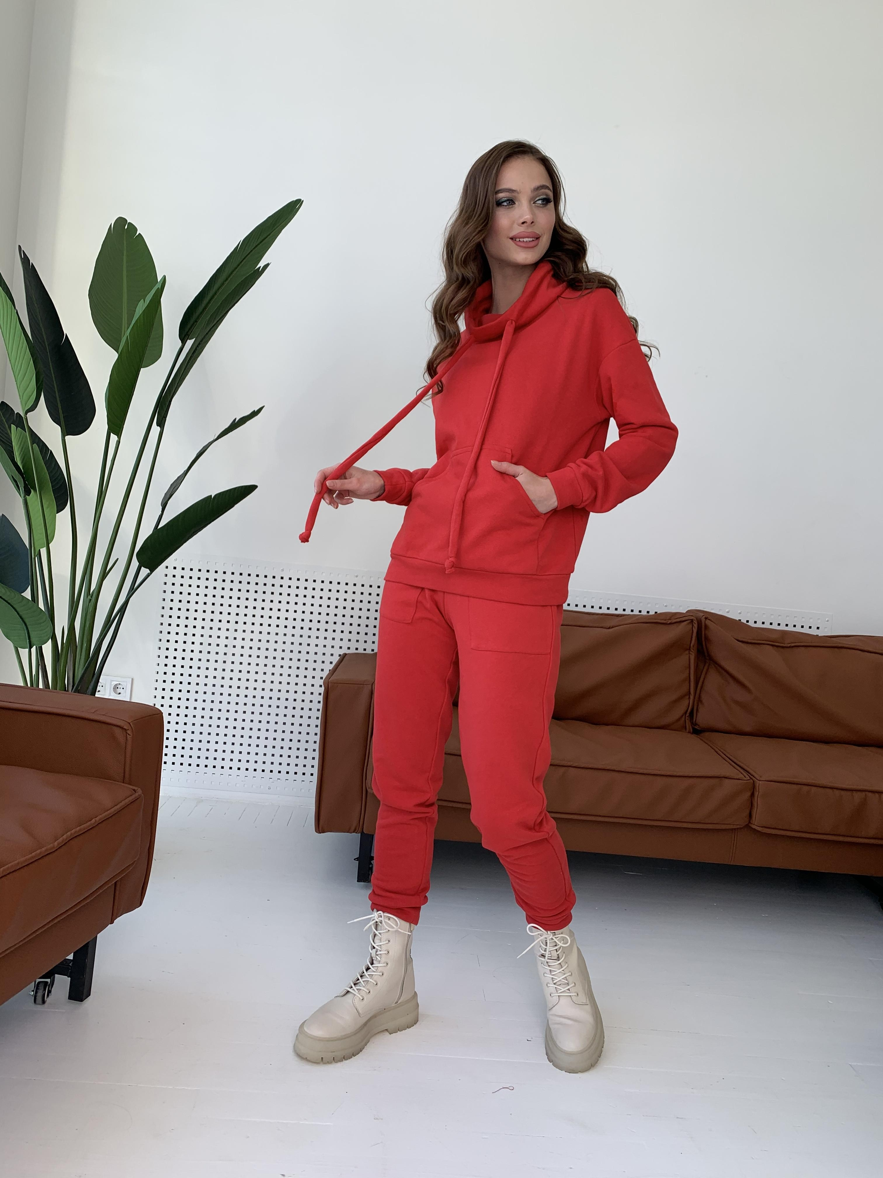 Костюм Фира 8994 АРТ. 45543 Цвет: Красный - фото 8, интернет магазин tm-modus.ru