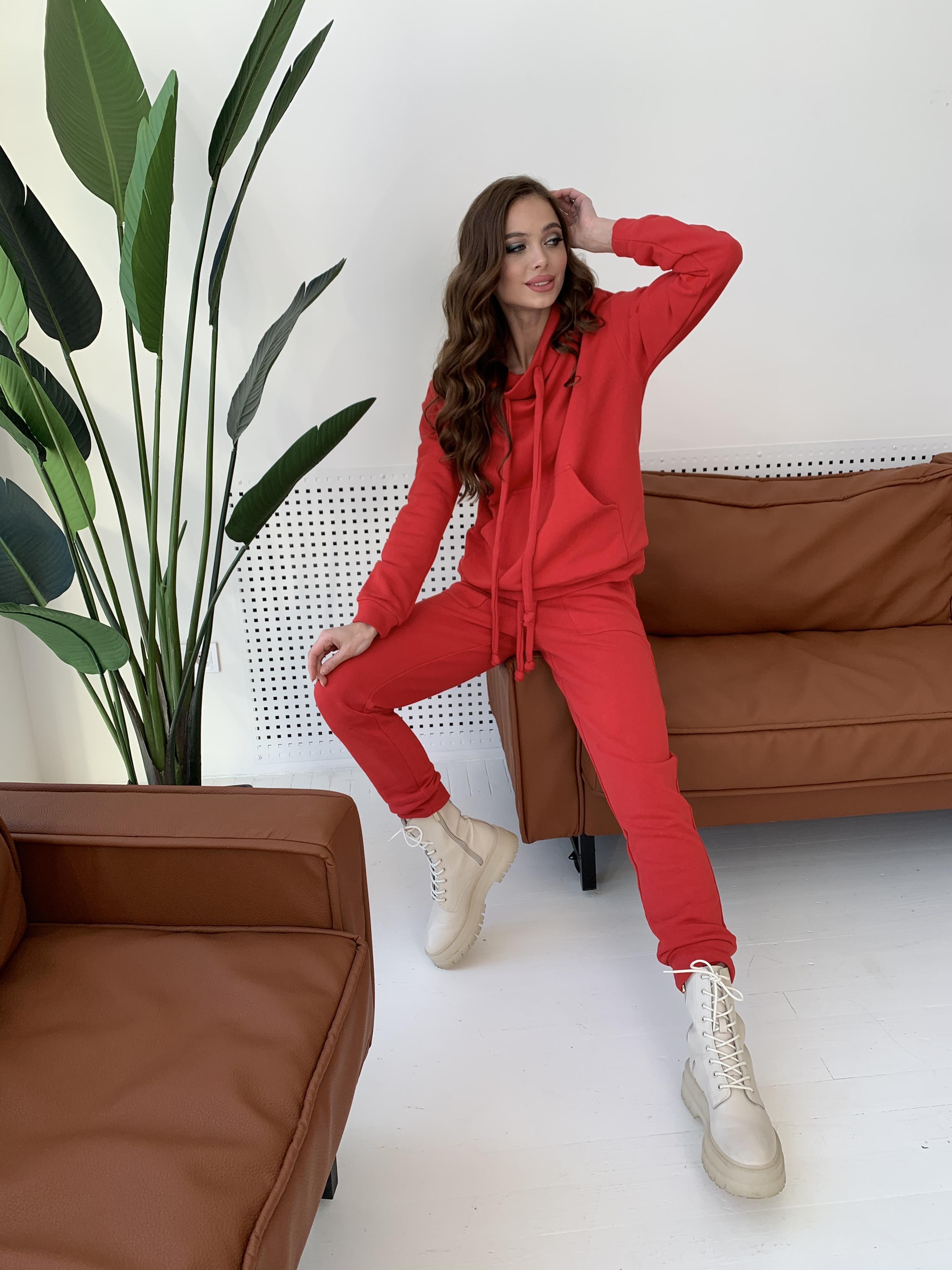 Костюм Фира 8994 АРТ. 45543 Цвет: Красный - фото 9, интернет магазин tm-modus.ru