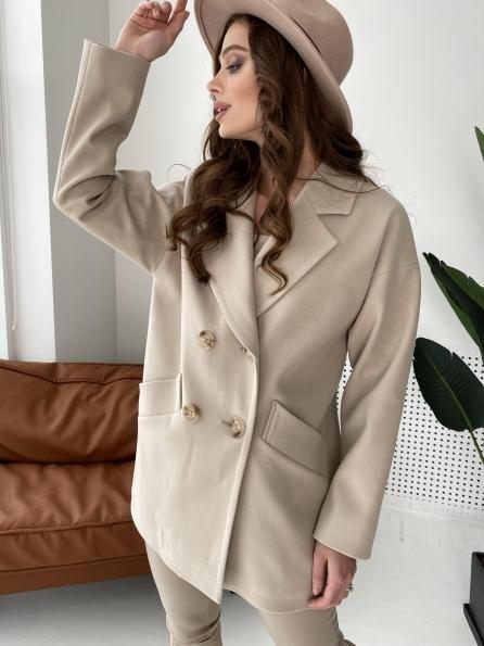 """Купить """"Бонд"""" пальто из кашемира  10571 оптом и в розницу"""